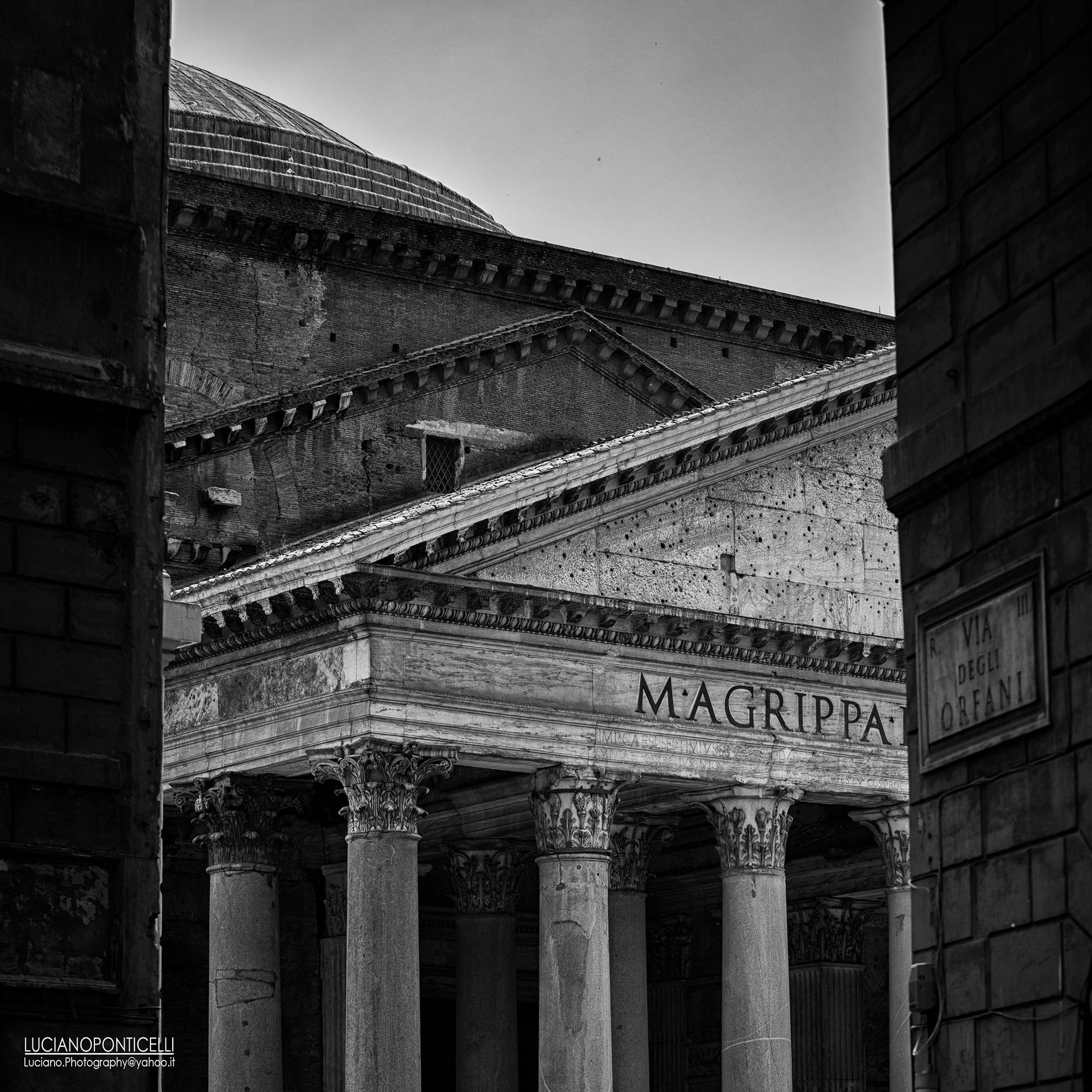 Via degli Orfani, Roma. by LucianoPhotography