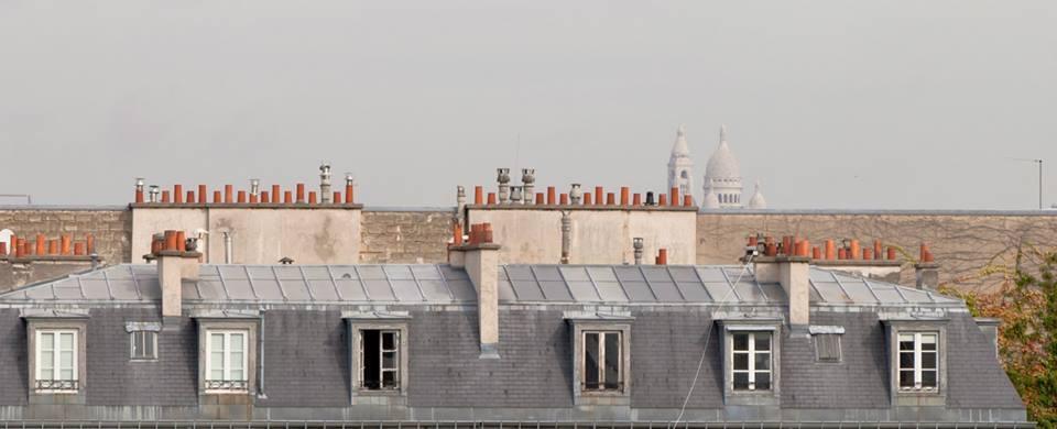 Roofs of Paris  by Mikhail Minakov
