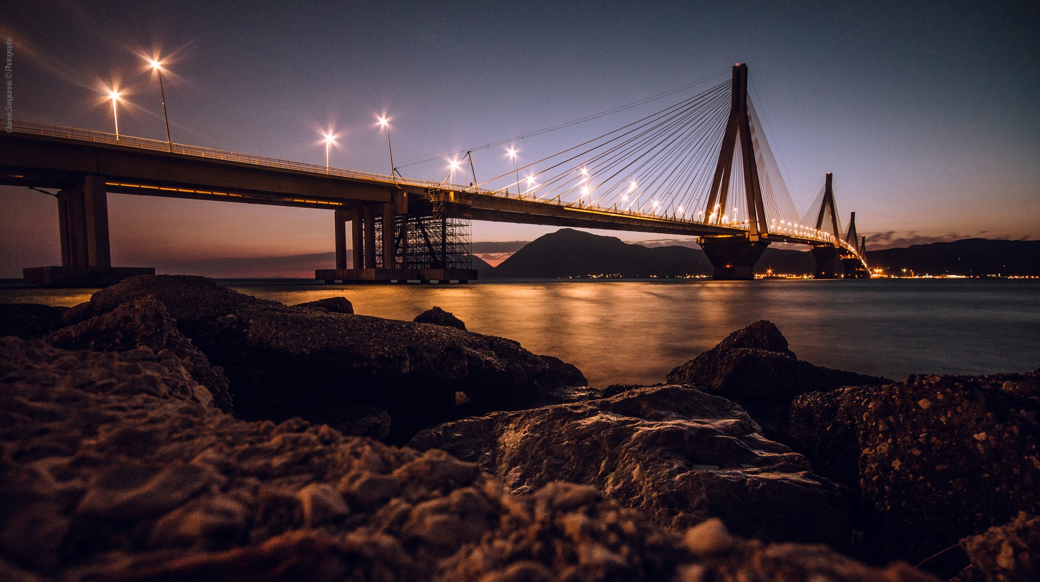 Rio Bridge.. by GiannisSarigiannis