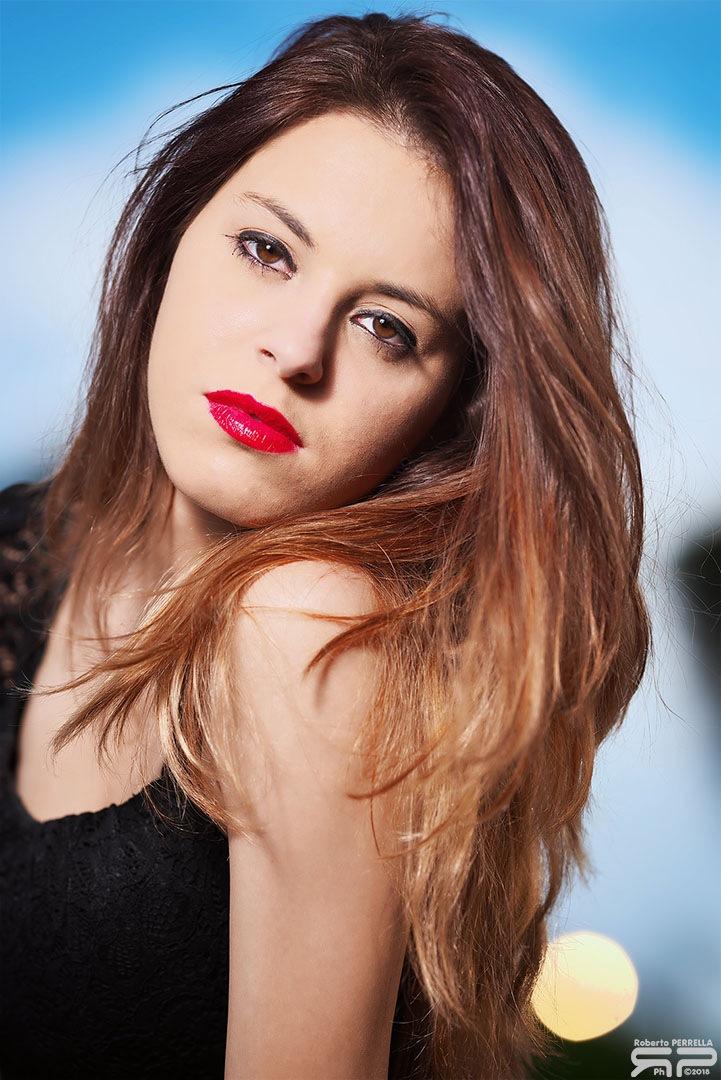 Sara's portrait by Roberto Perrella photography