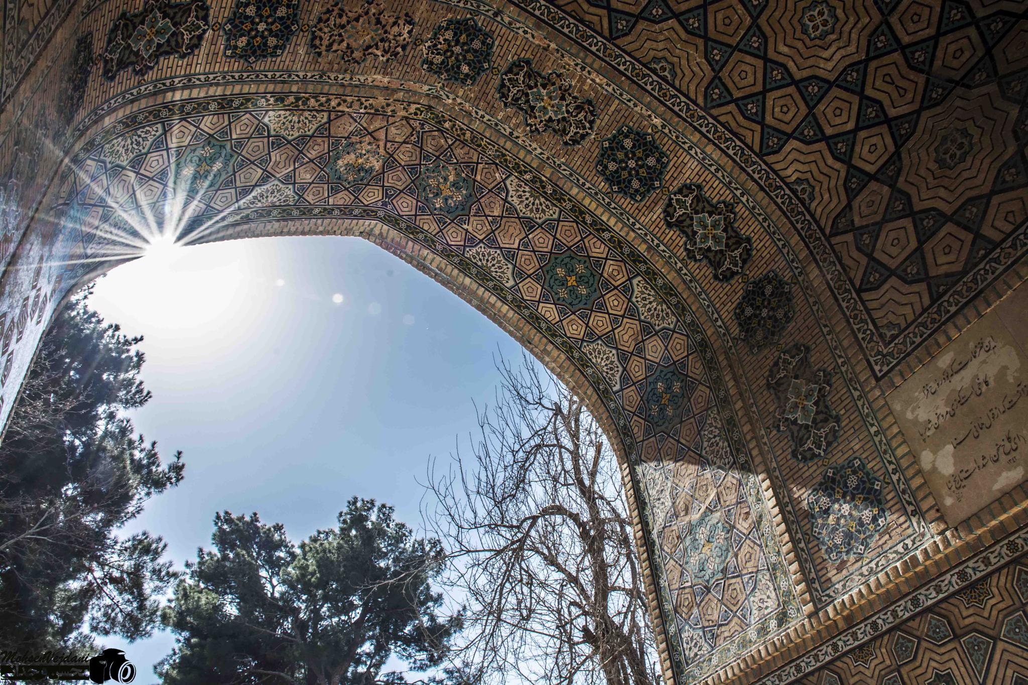 mosque in iran  by Mohsen Vejdany
