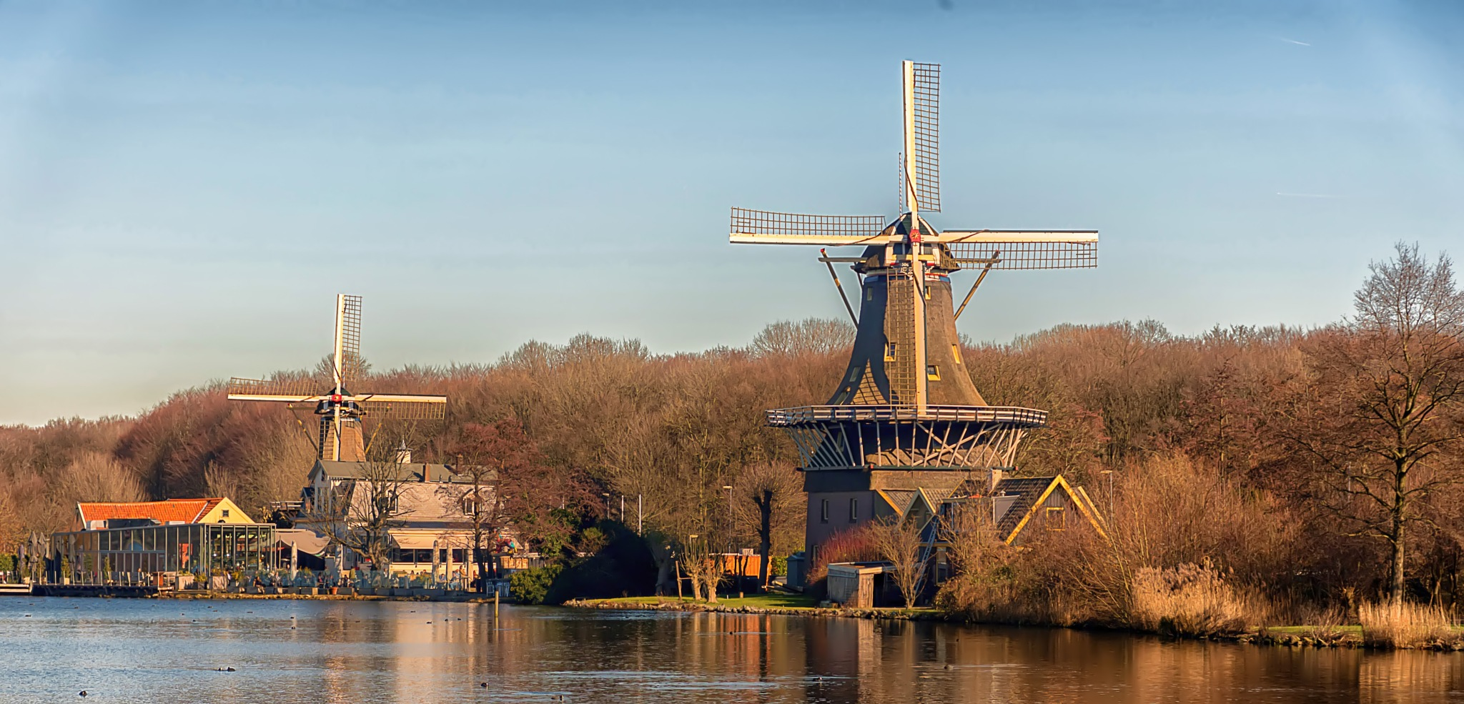 Dutch Windmills by John Rodenberg