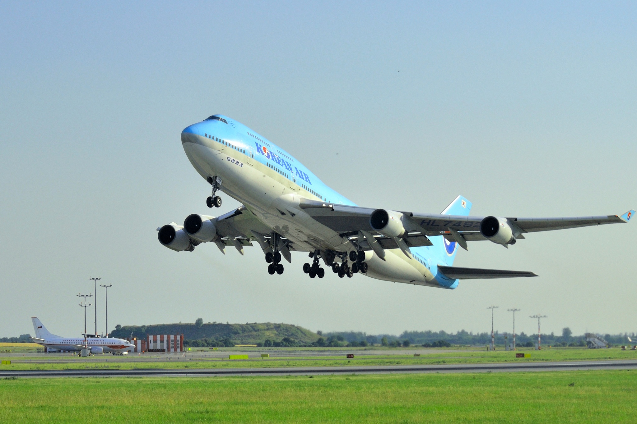take-off by Edwards