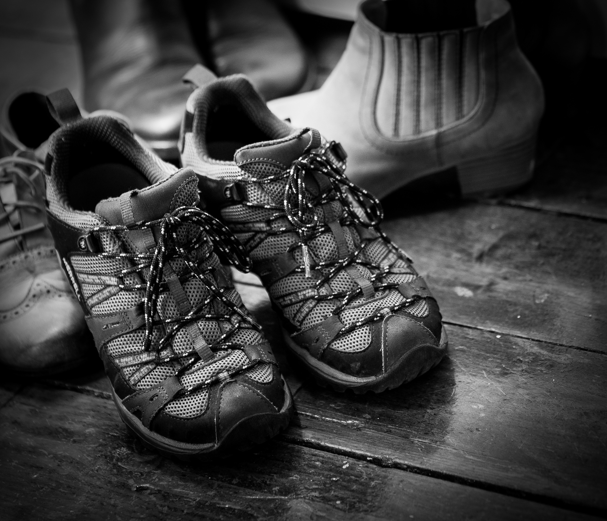walking shoes  by sread808
