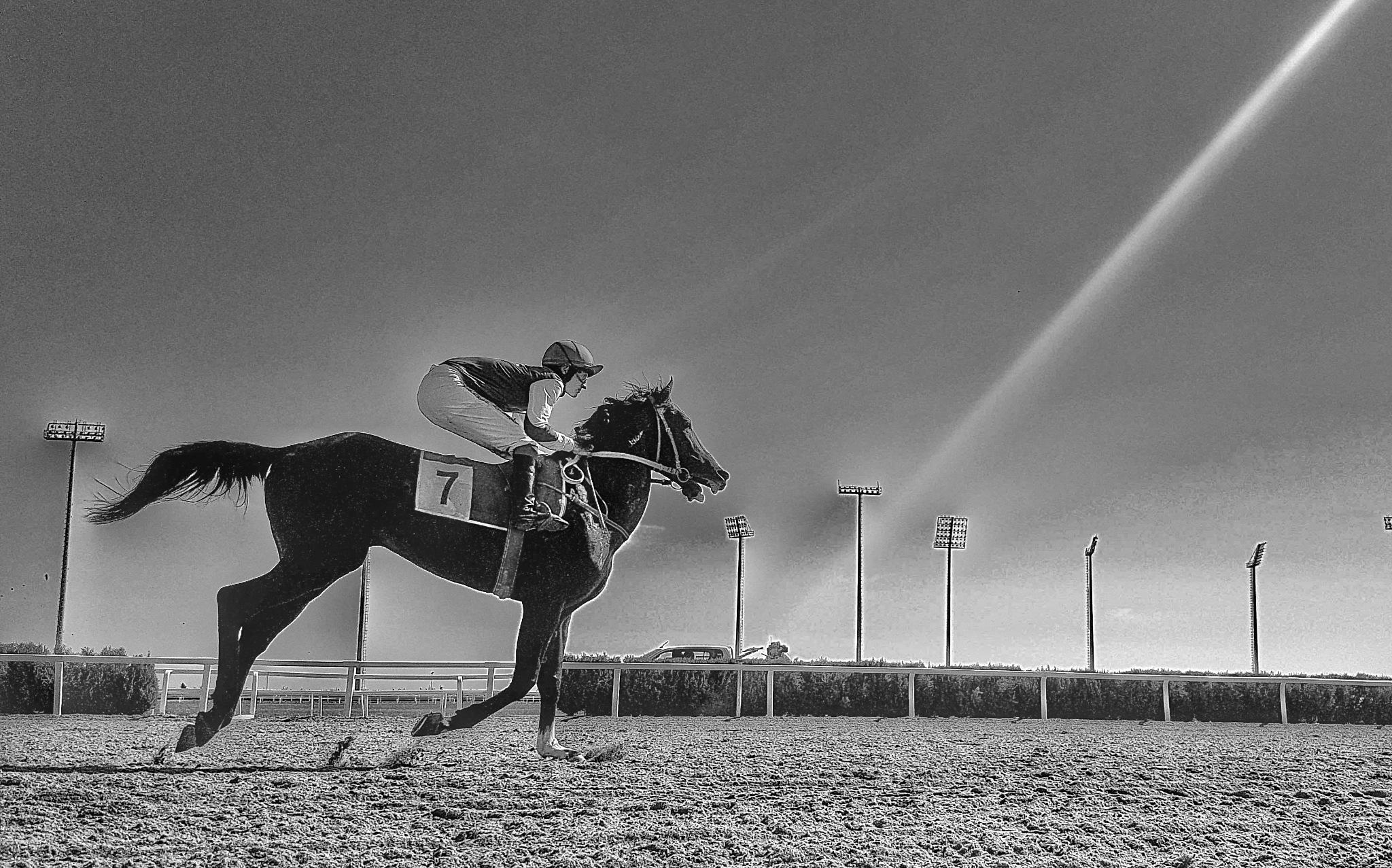 horse race by Sergio Ramos