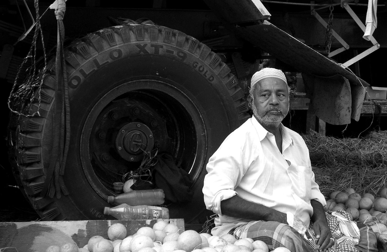Fruit-seller by anishgupta