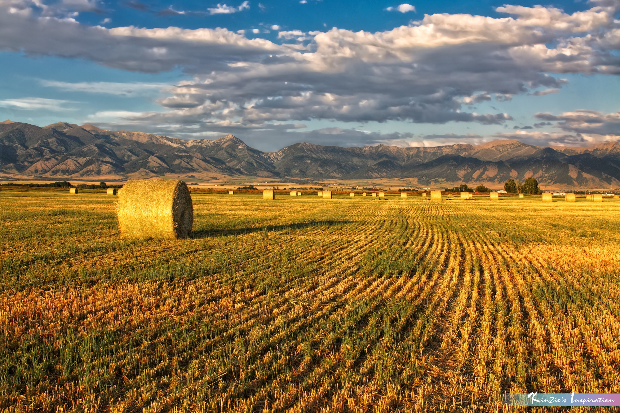 Visual of Hay Ranch *A Beautiful Nature* by iLOVEnature's Photography Inspiration