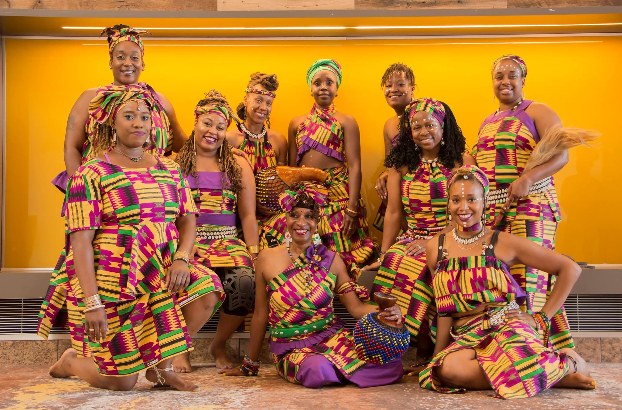 Otesha African Dancers by Larente Hamlin