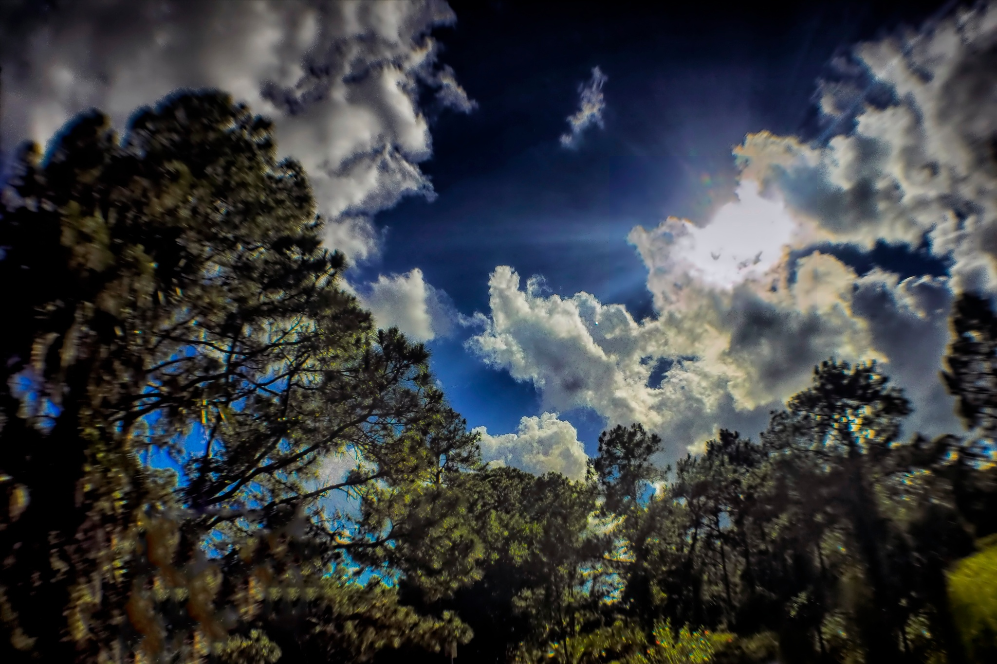 Florida Sky's Today over Palm Bay by Mick Swengrosh