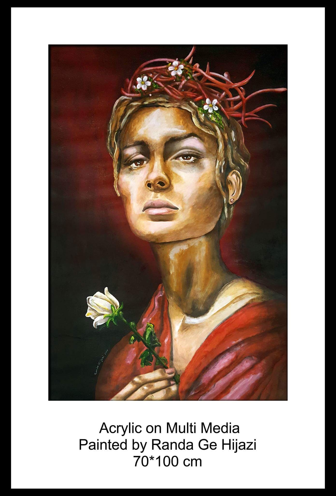 new painting..by Randa Ge Hijazi...2800$ by Randa Ge Hijazi
