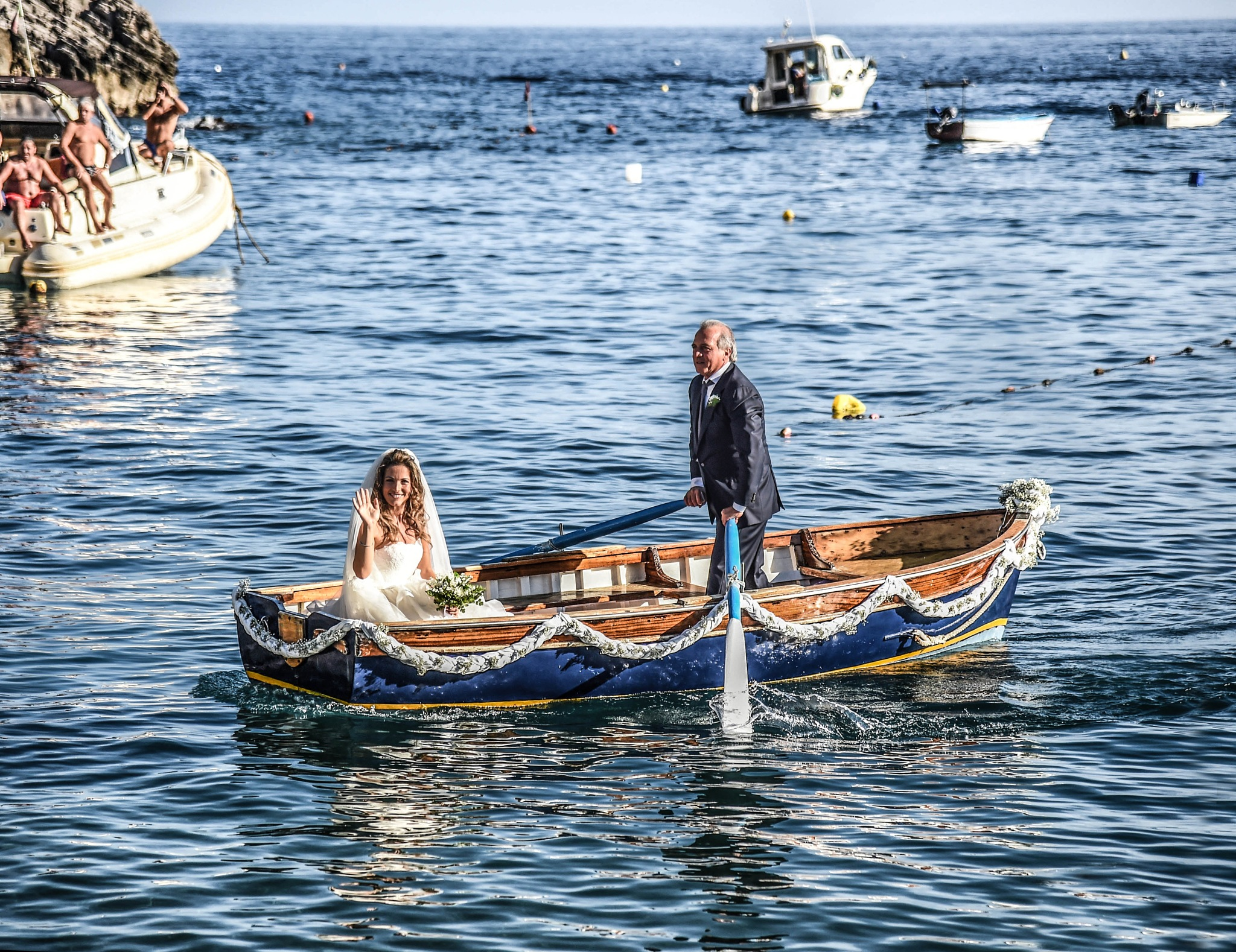 Matrimonio sul mare | Wedding on the sea by Foto Aminta Sorrento -  Positano