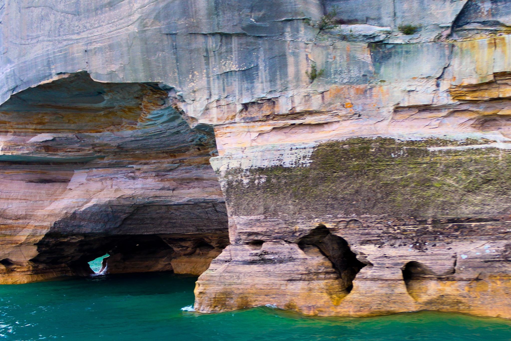 Pictured Rocks by Steve Fraser