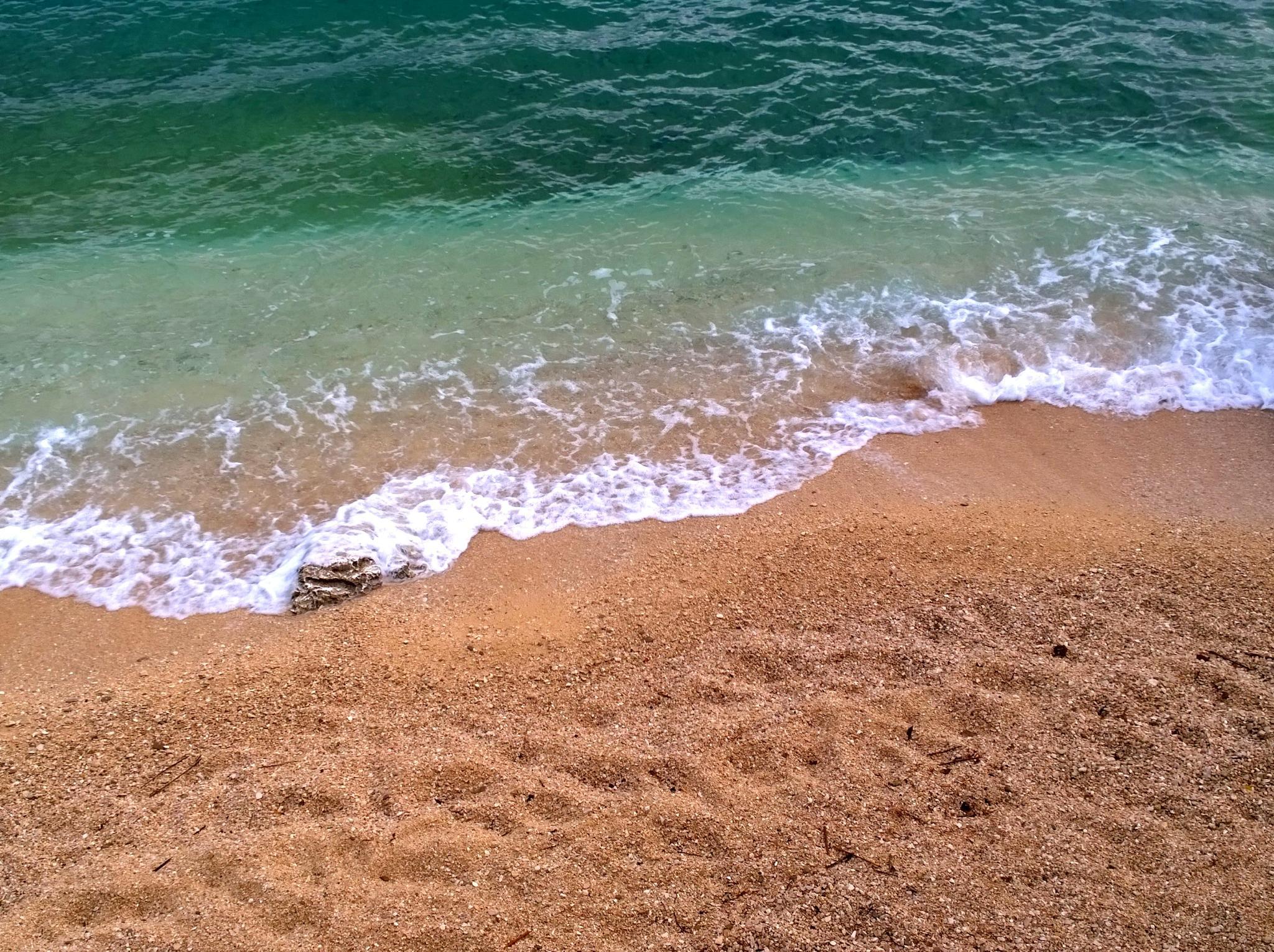 Sea and sand by Stipe Katić