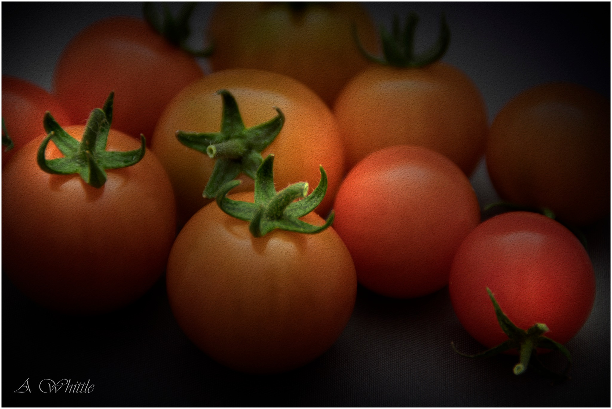 Cherry Tomatoes by Andy Whittle