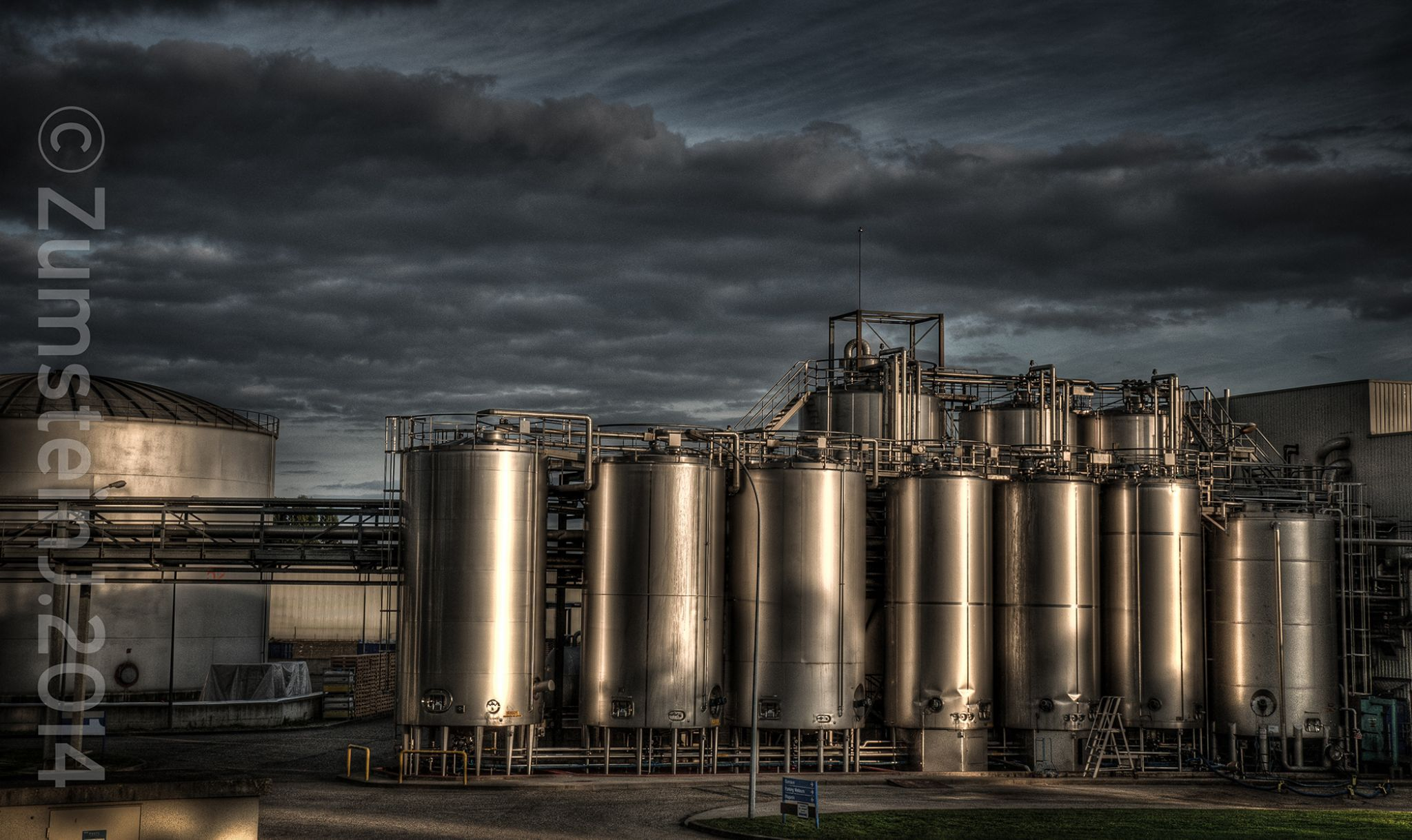 Industrial light by Zumstein Jacqui