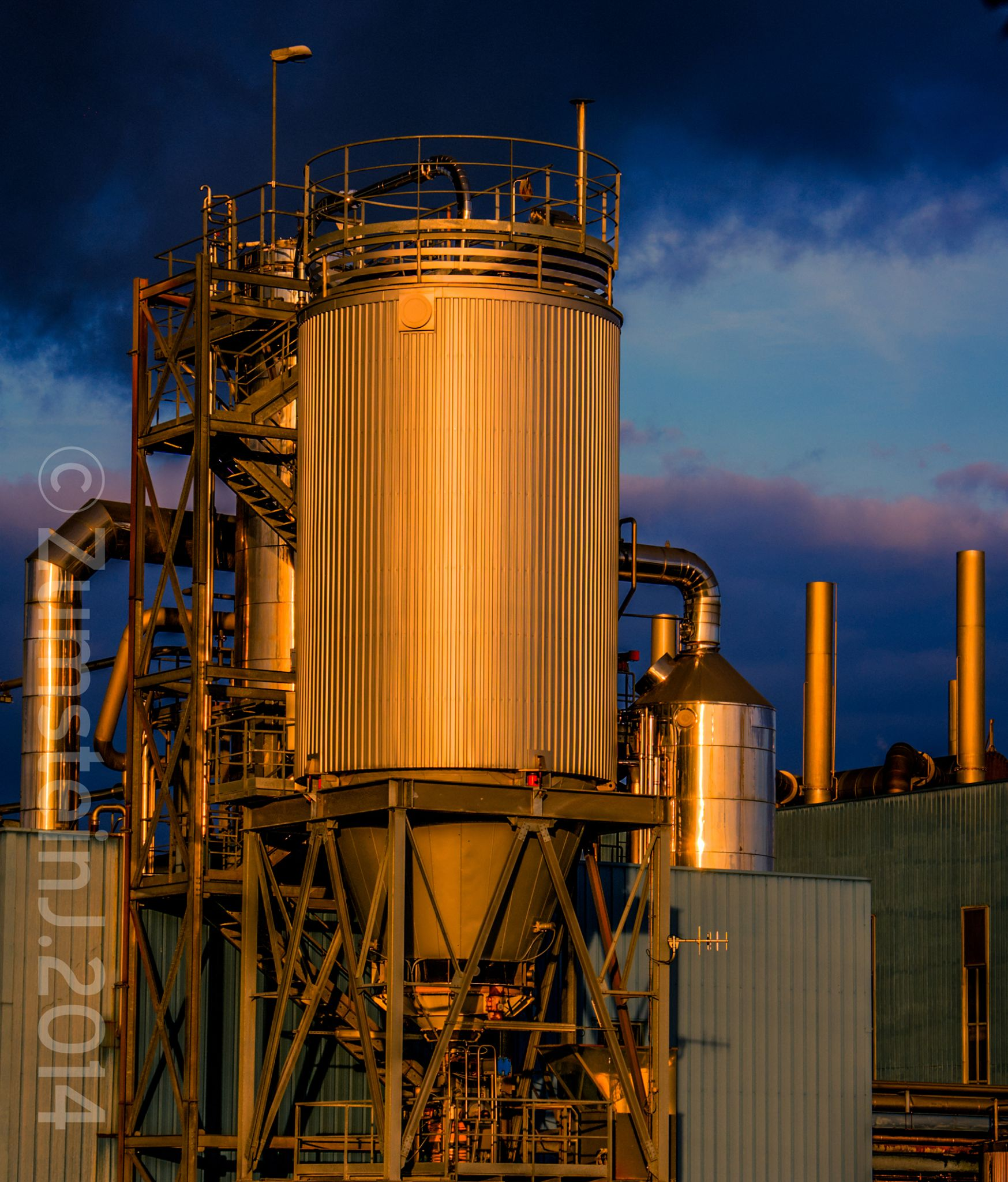 Industrial gold by Zumstein Jacqui
