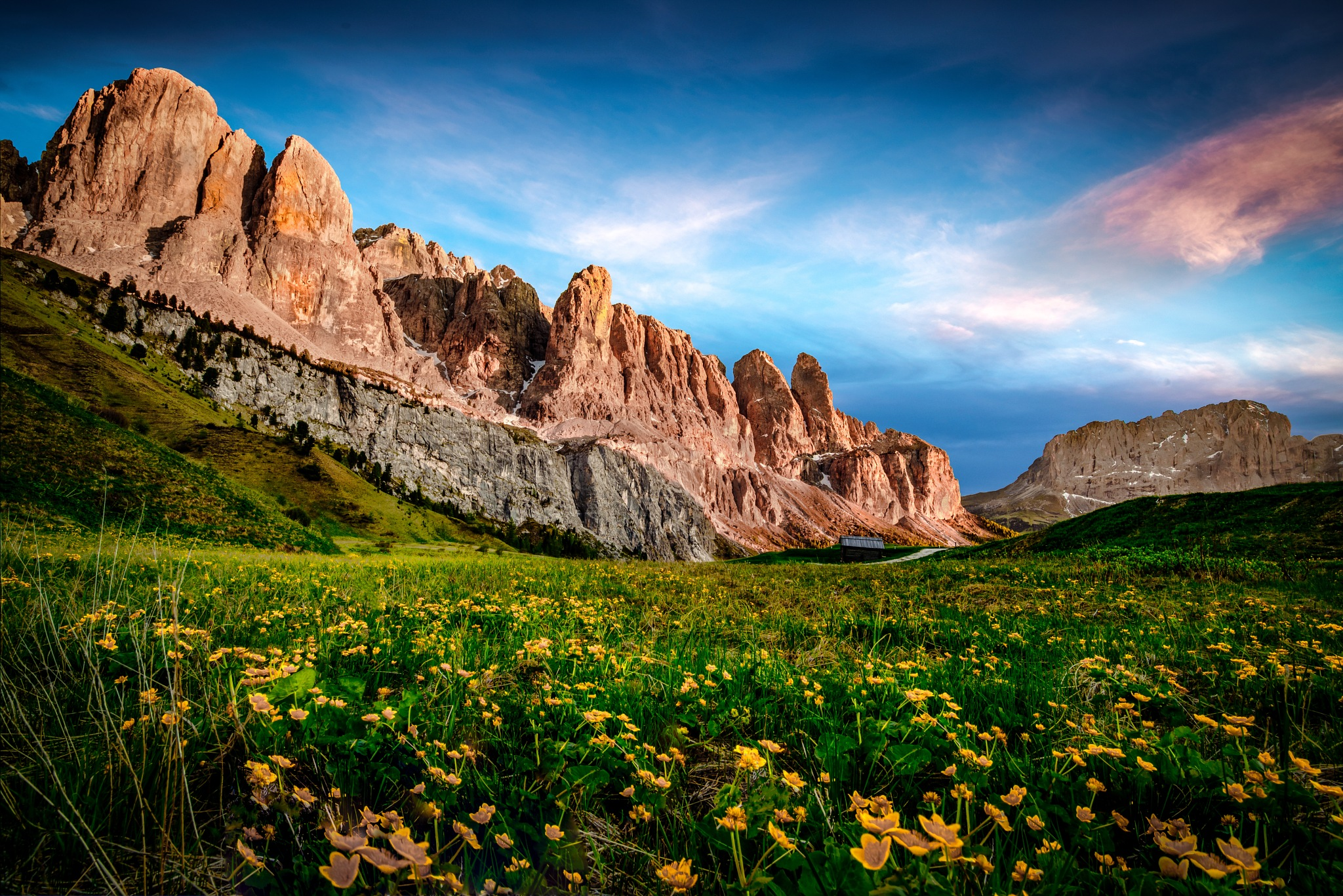 Dolomites sunset II by JurajNovak