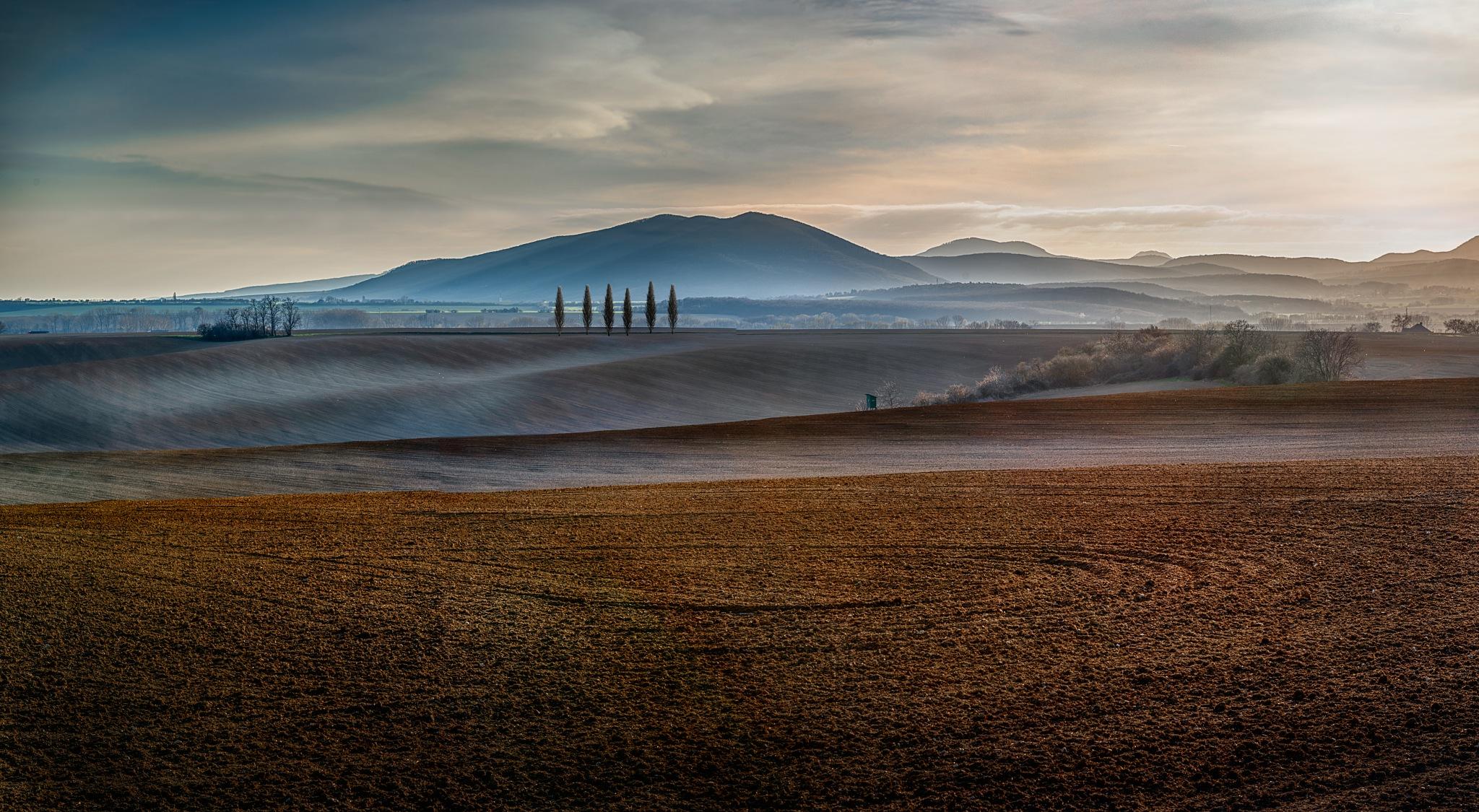 Spring sunset by JurajNovak
