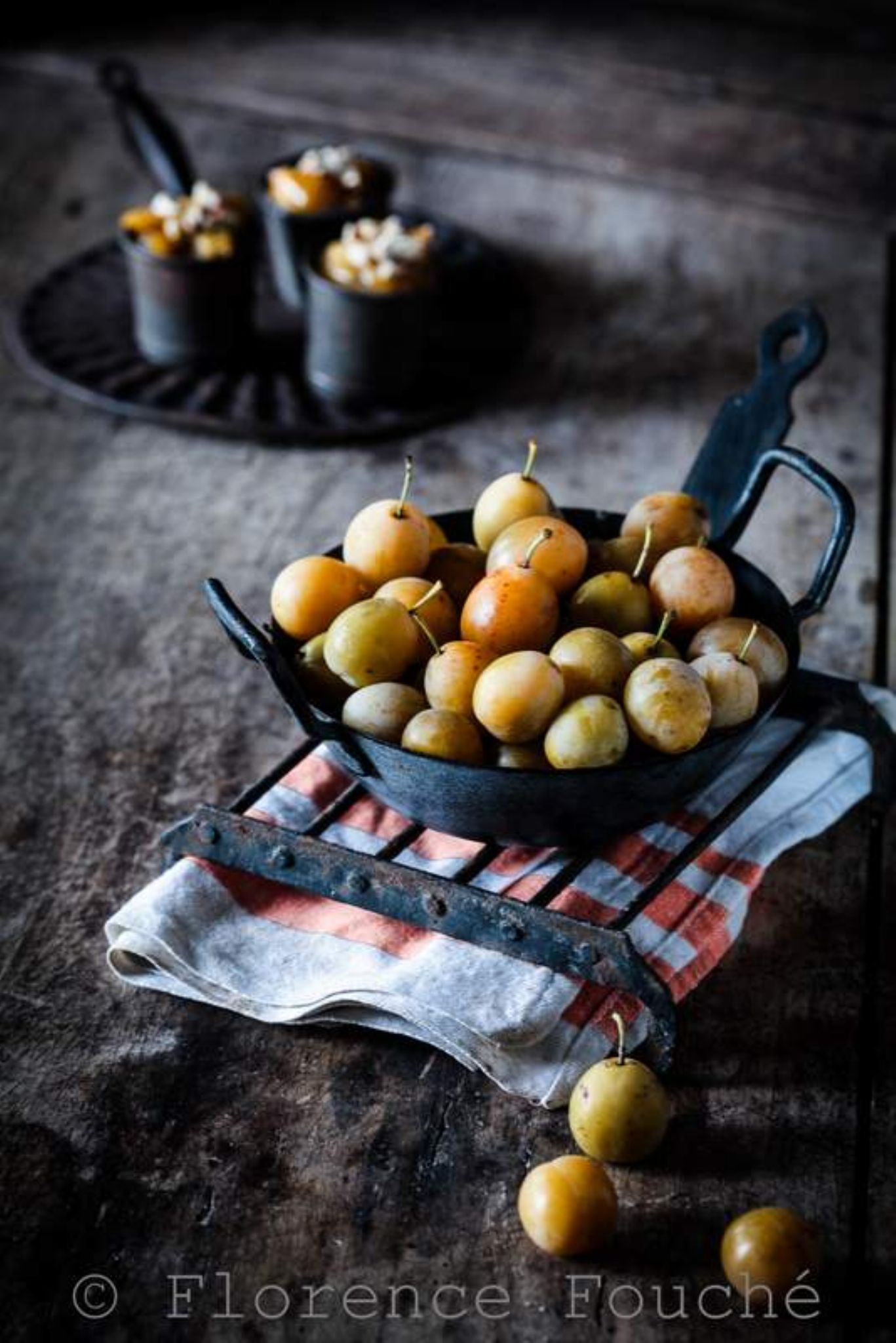 Stewed plums by Florence Fouché