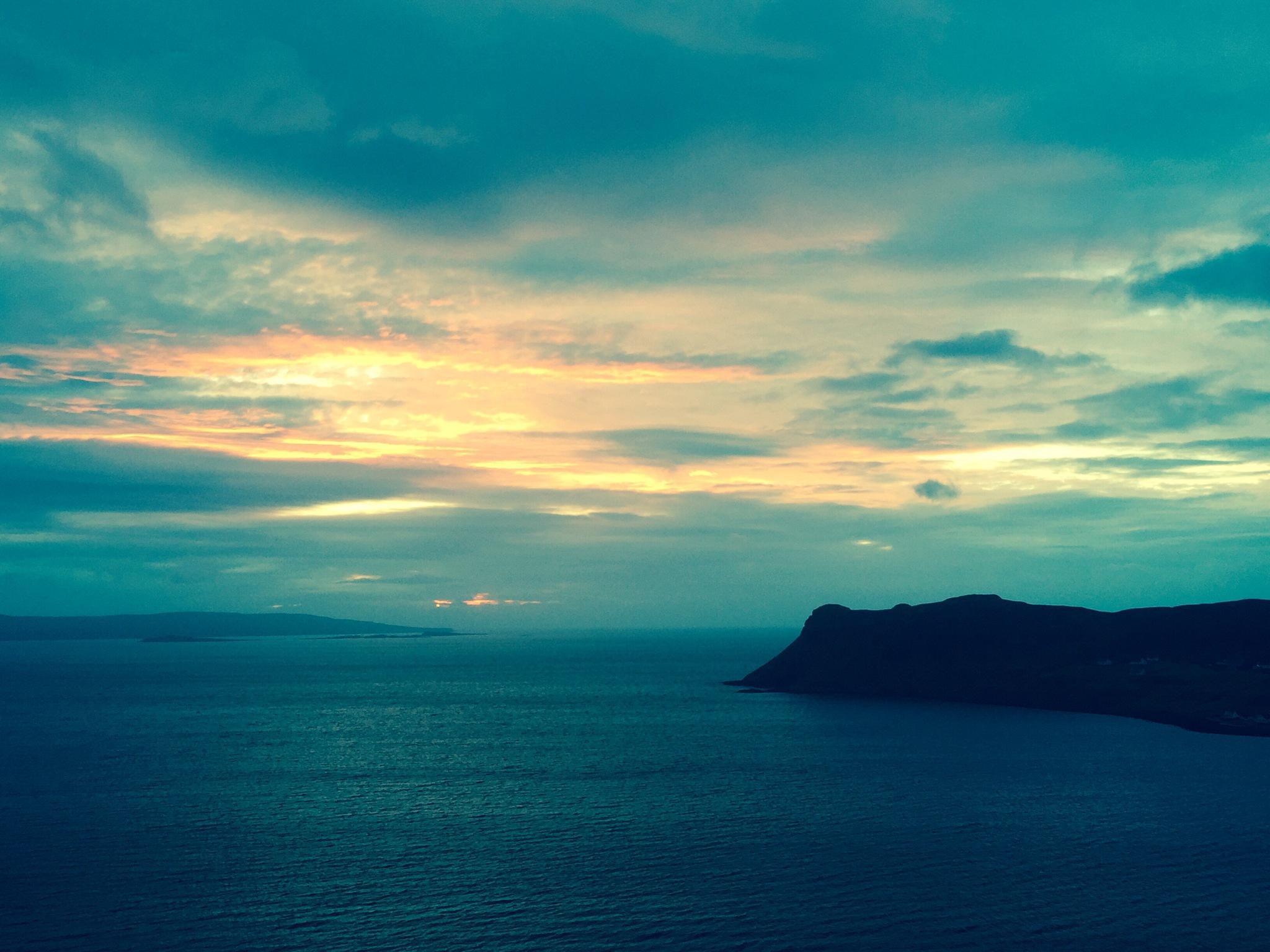 Sunrise on Skye by Kingshillmac