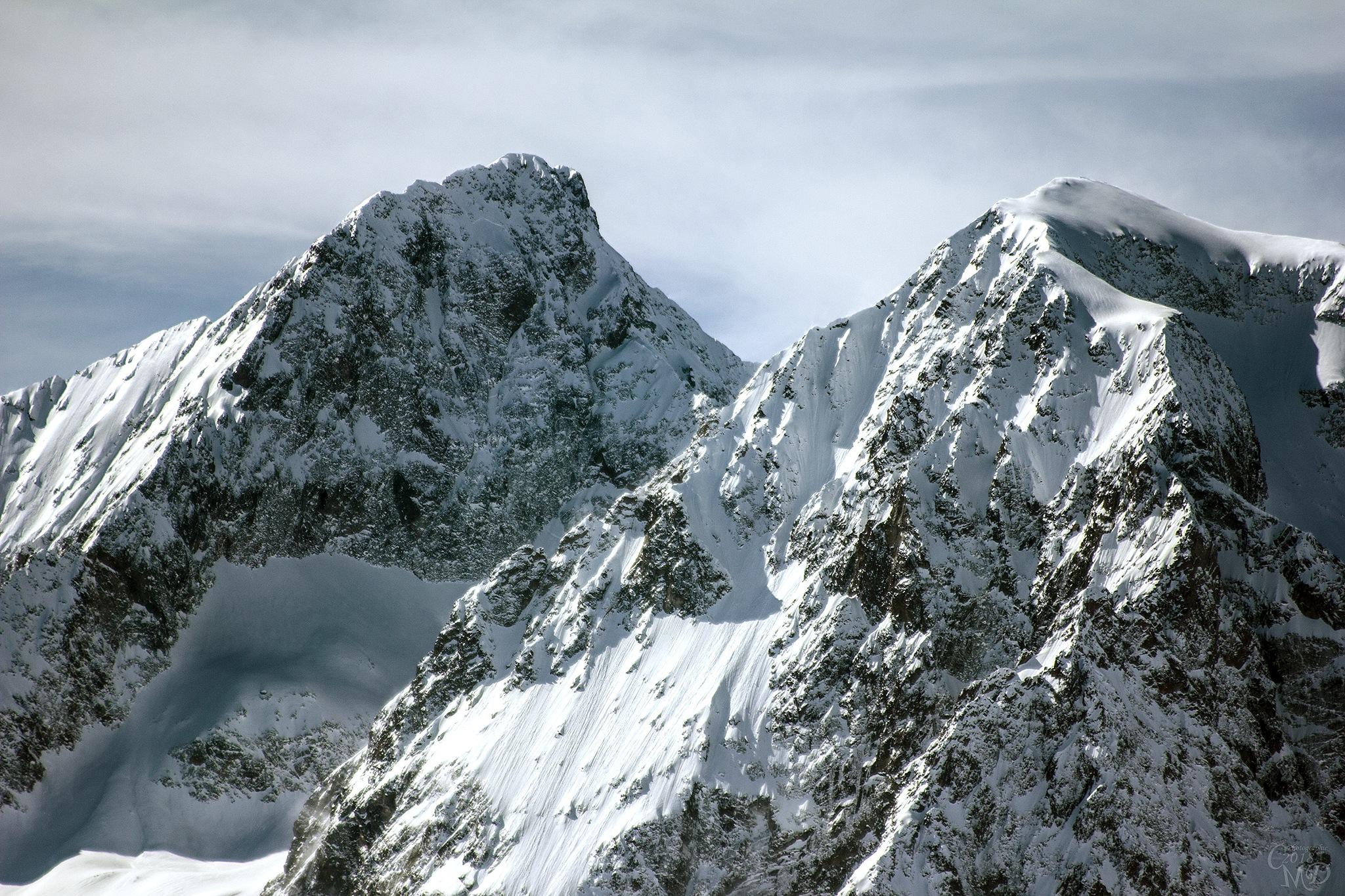 Tête de la Muraillet Pic du Glacier du Peyron by Iah Hel