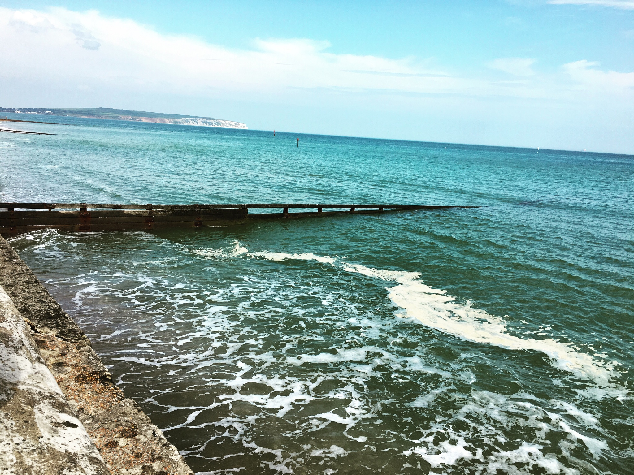 Taken from my iPhone. Shanklin beach  by Tamsyn Gustar