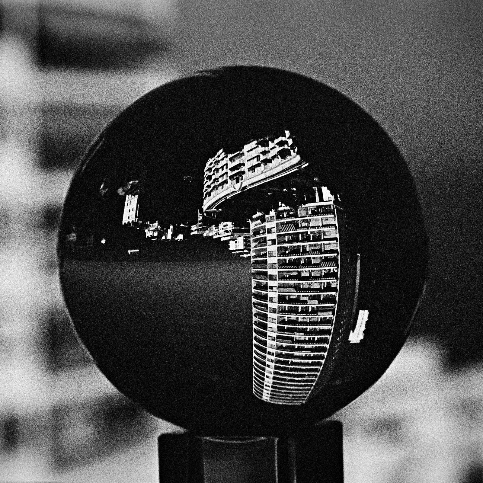 Black nightgown by Marek Fogiel
