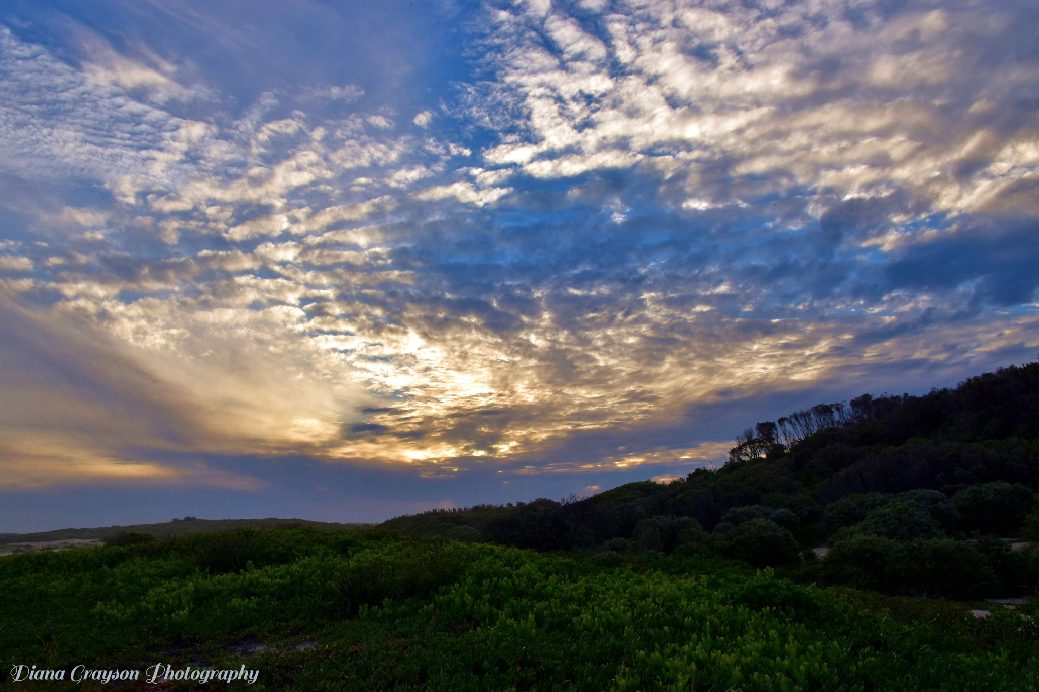 Amazing skies over Redhead Beach dunes... by Diana684