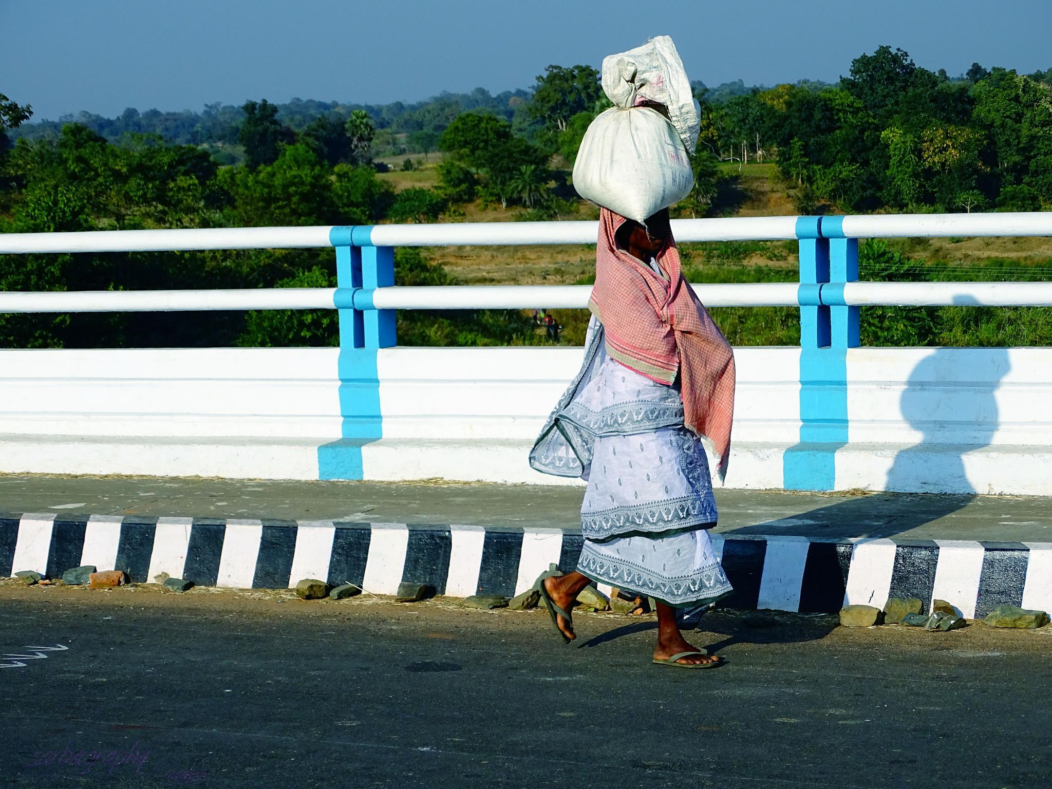 street life by Sarbajit Chatterjee