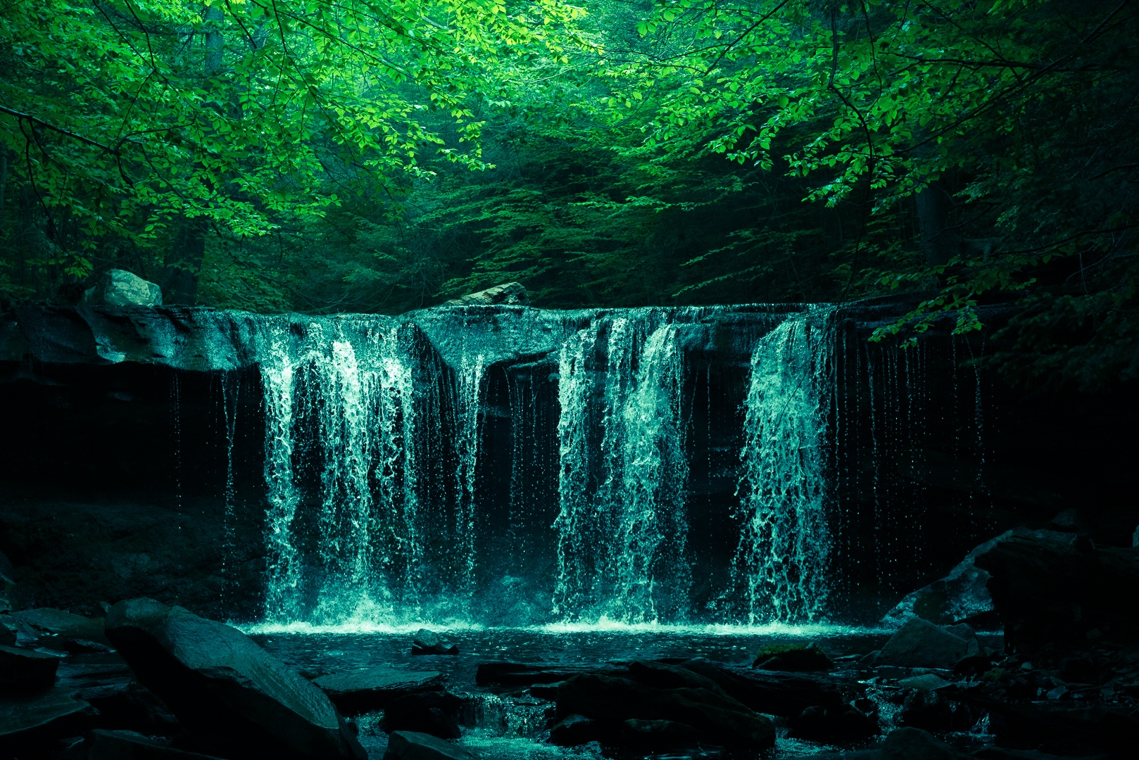 Photo in Nature #water #waterfall #nature #inspiring #calm #beautiful #colorful #moody