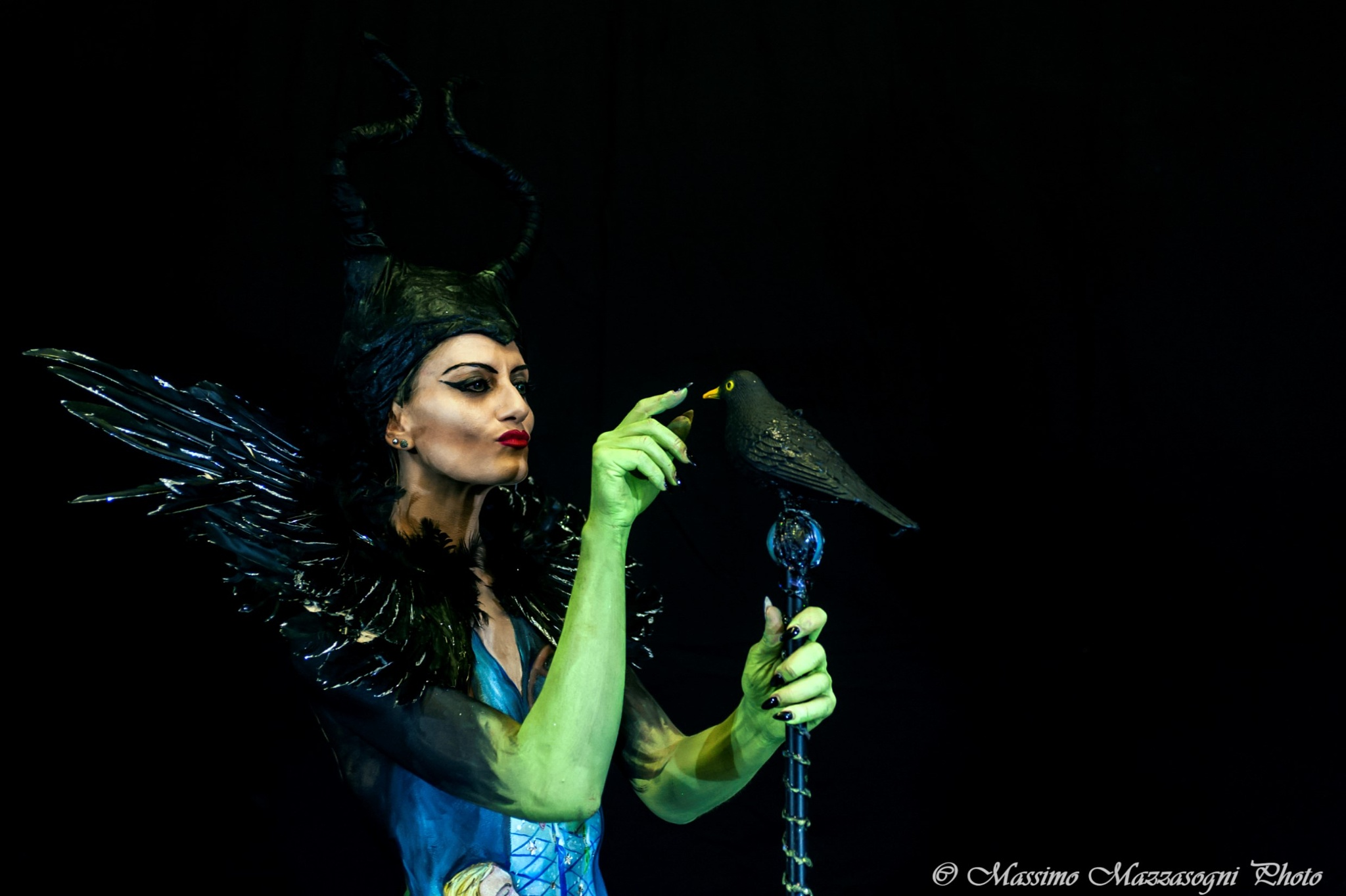 The wicked witch by Massimo Mazzasogni