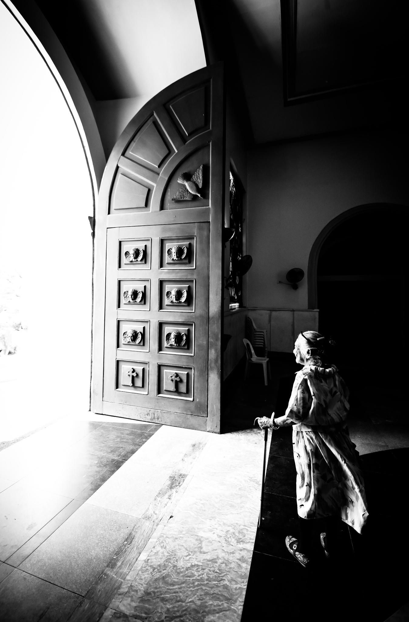 old lady by Angel_Tebelin