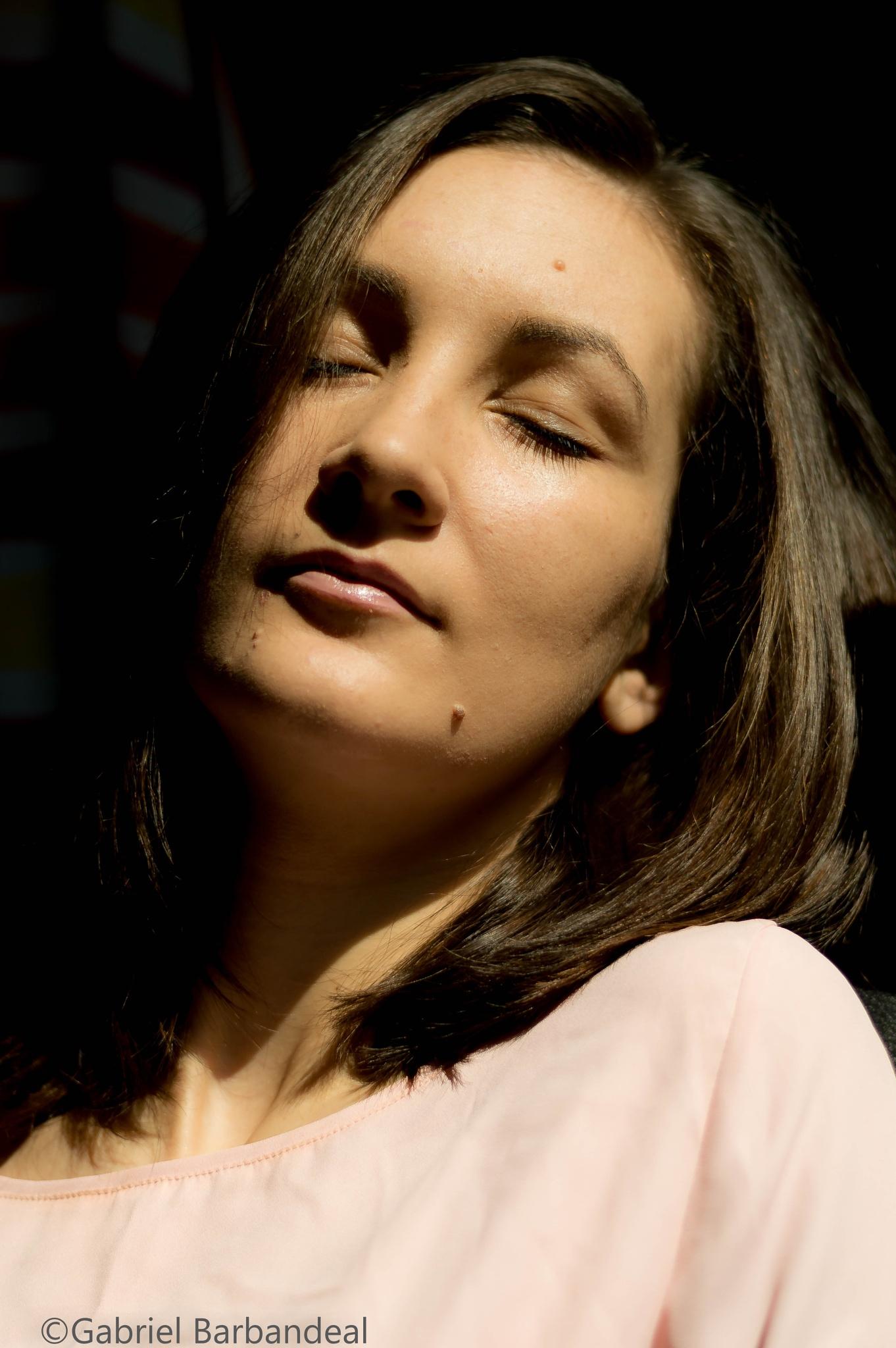 Andreea by Gabriel Barbandeal