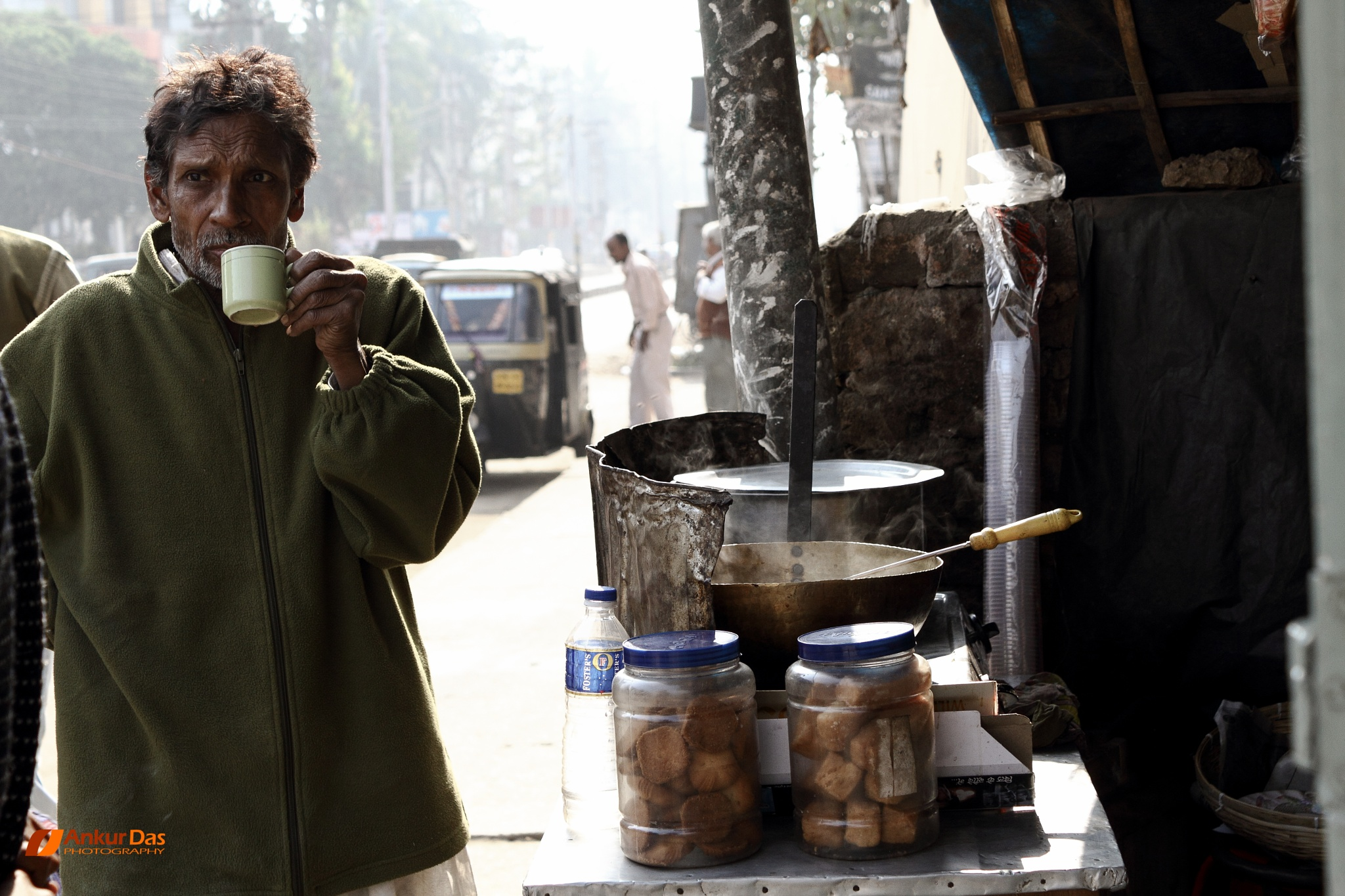 Tea Stall by Ankur Das
