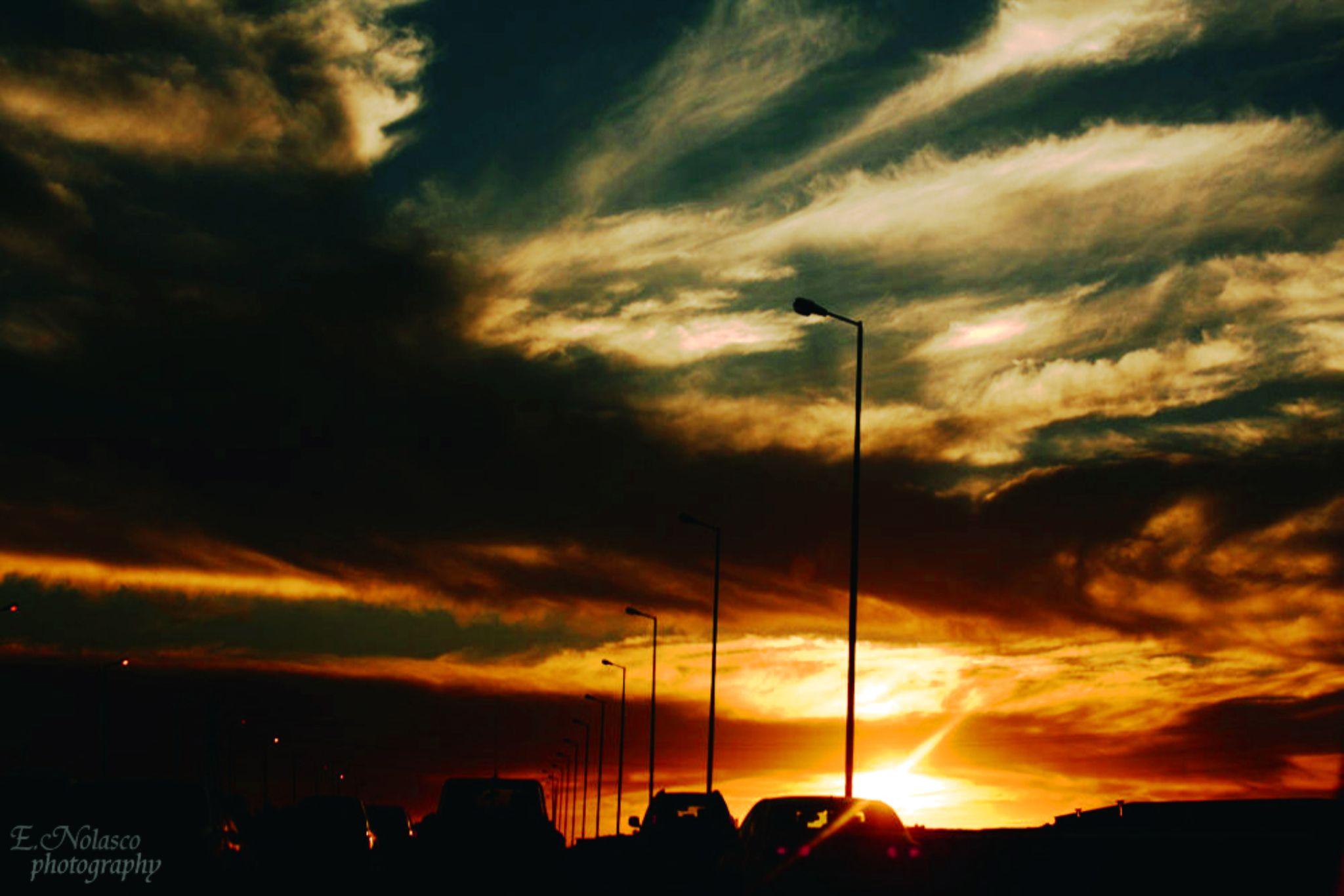 SUNSET by Elichander Nolasco
