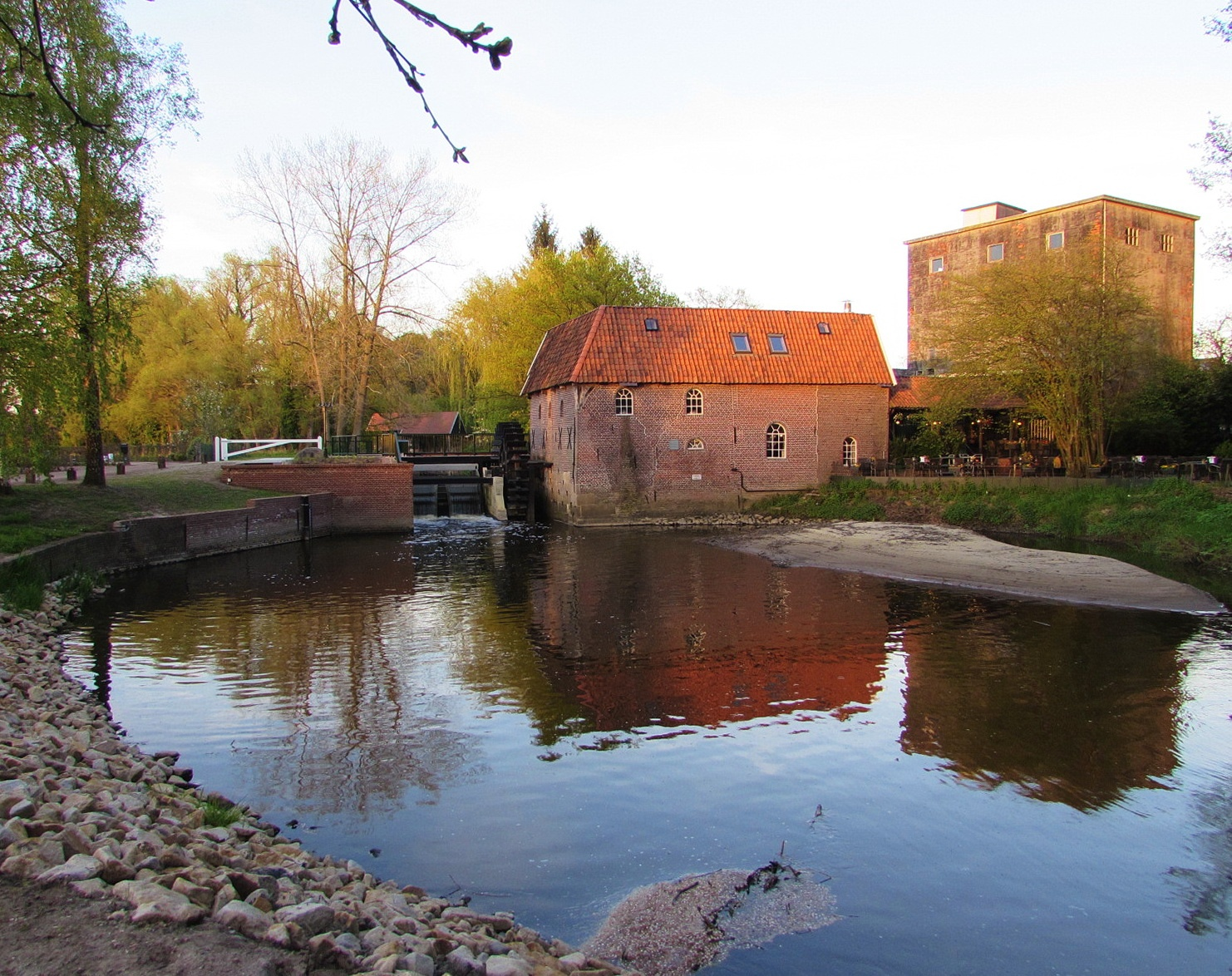 Water mill Berenschot, the Netherlands by Annemarie Frieser