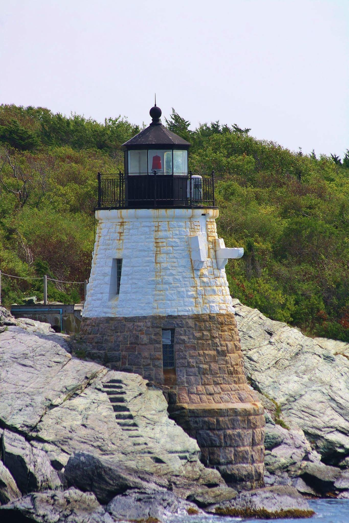 Castle Hill Lighthouse  Newport, RI by Chris Spinney Andrade