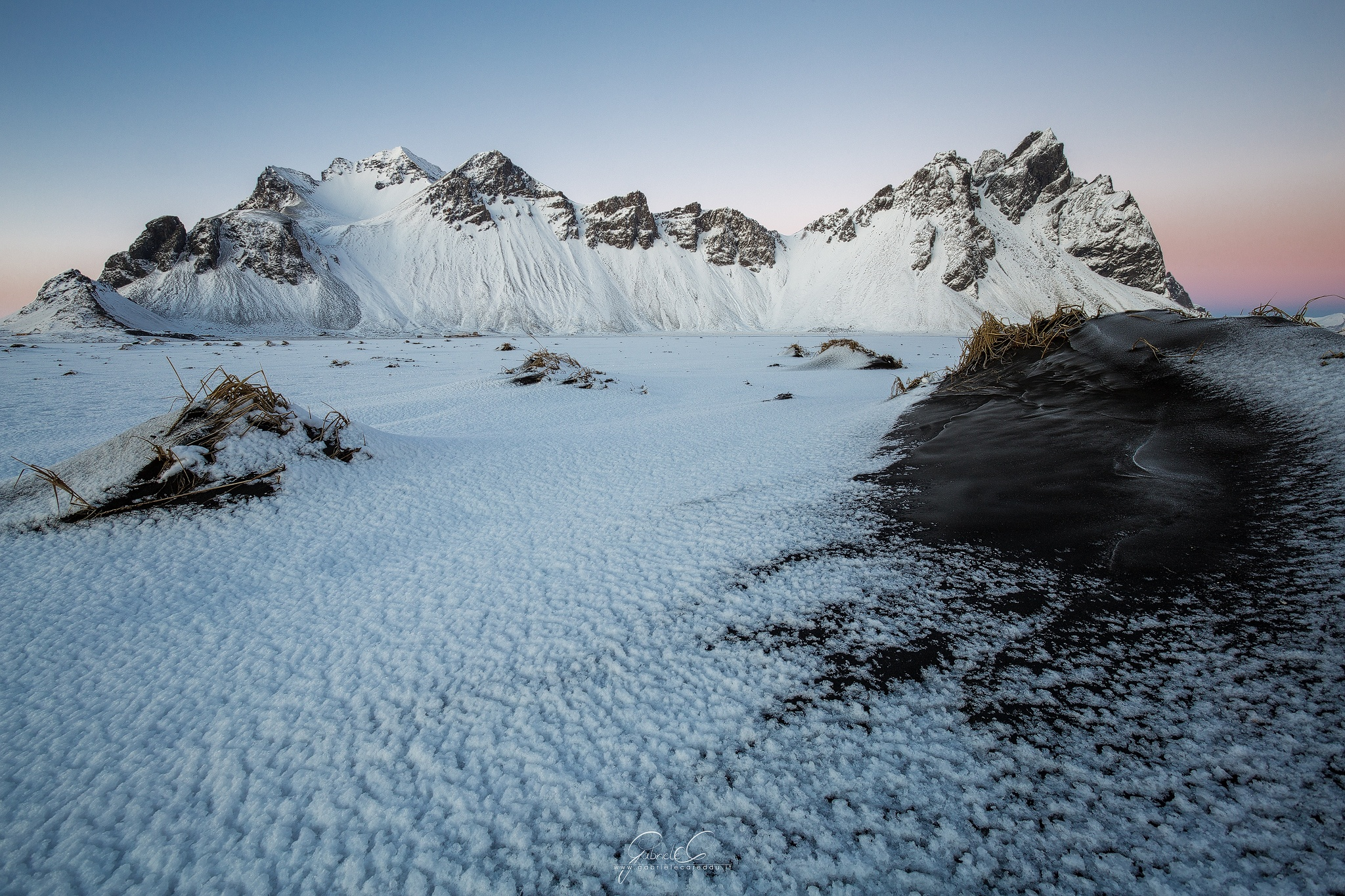 Photo in Landscape #vestrahorn #iceland #islanda #stokksnes