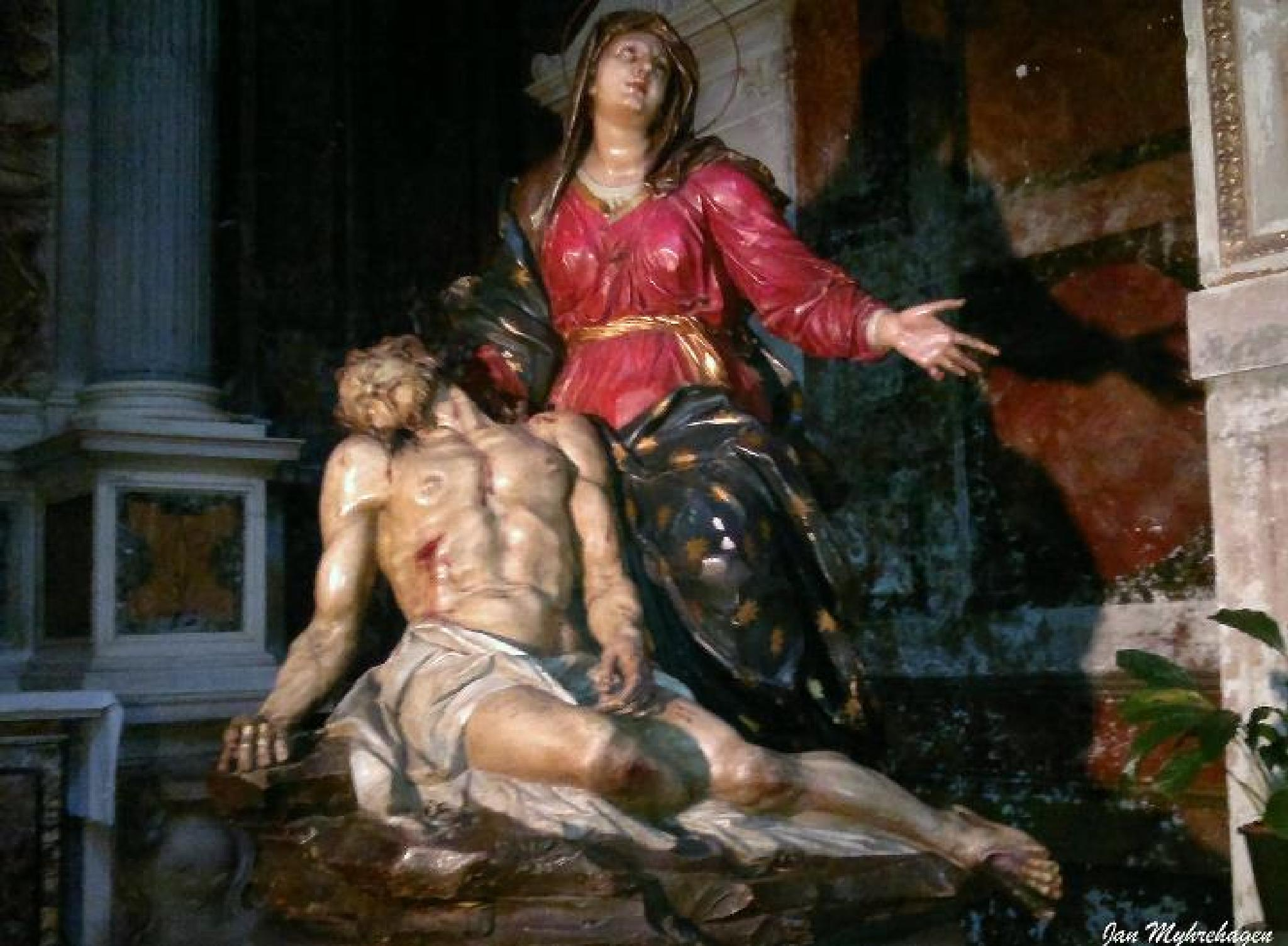 Jesus and Maria by Myhrehagen