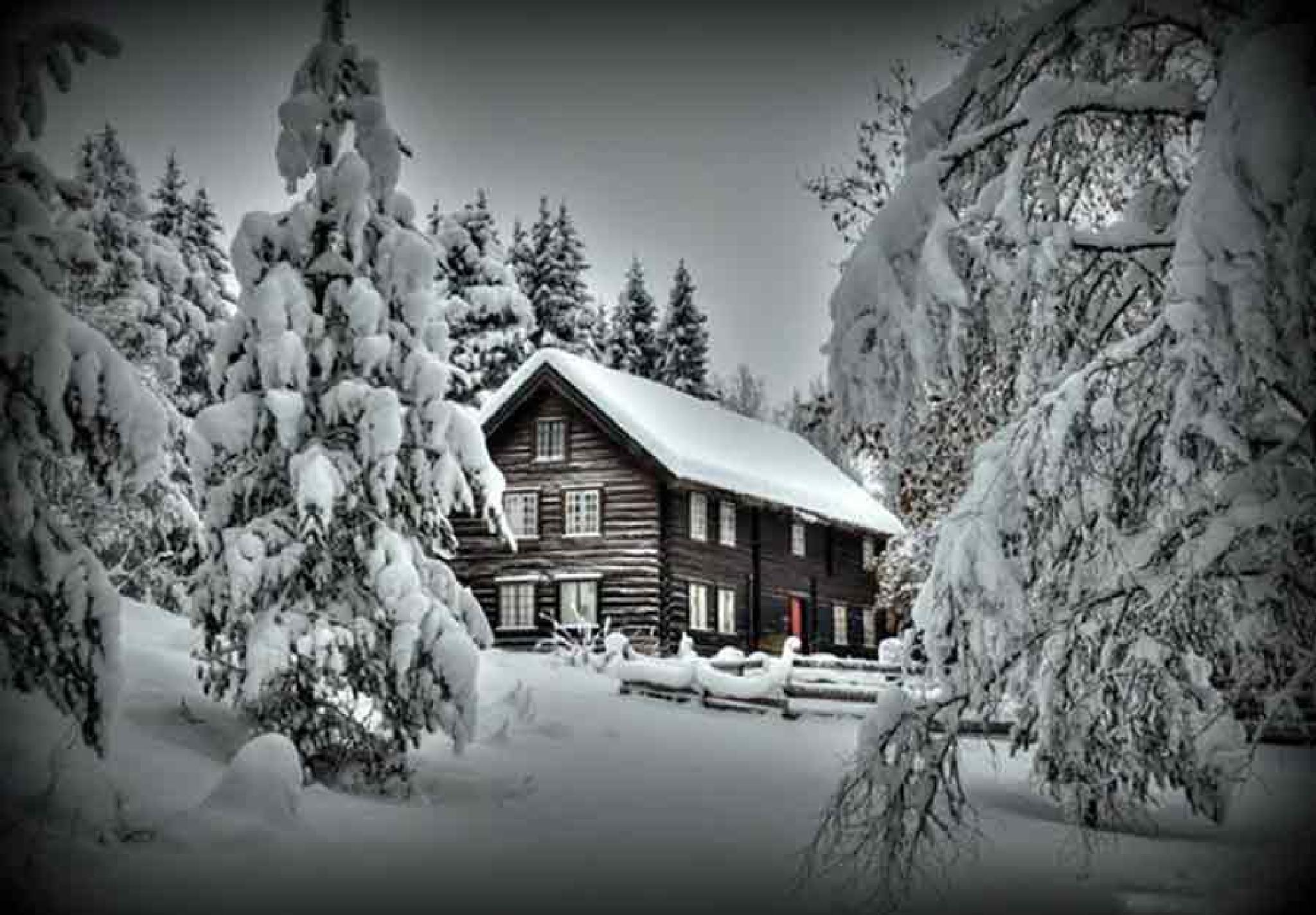 Christmas card by Myhrehagen