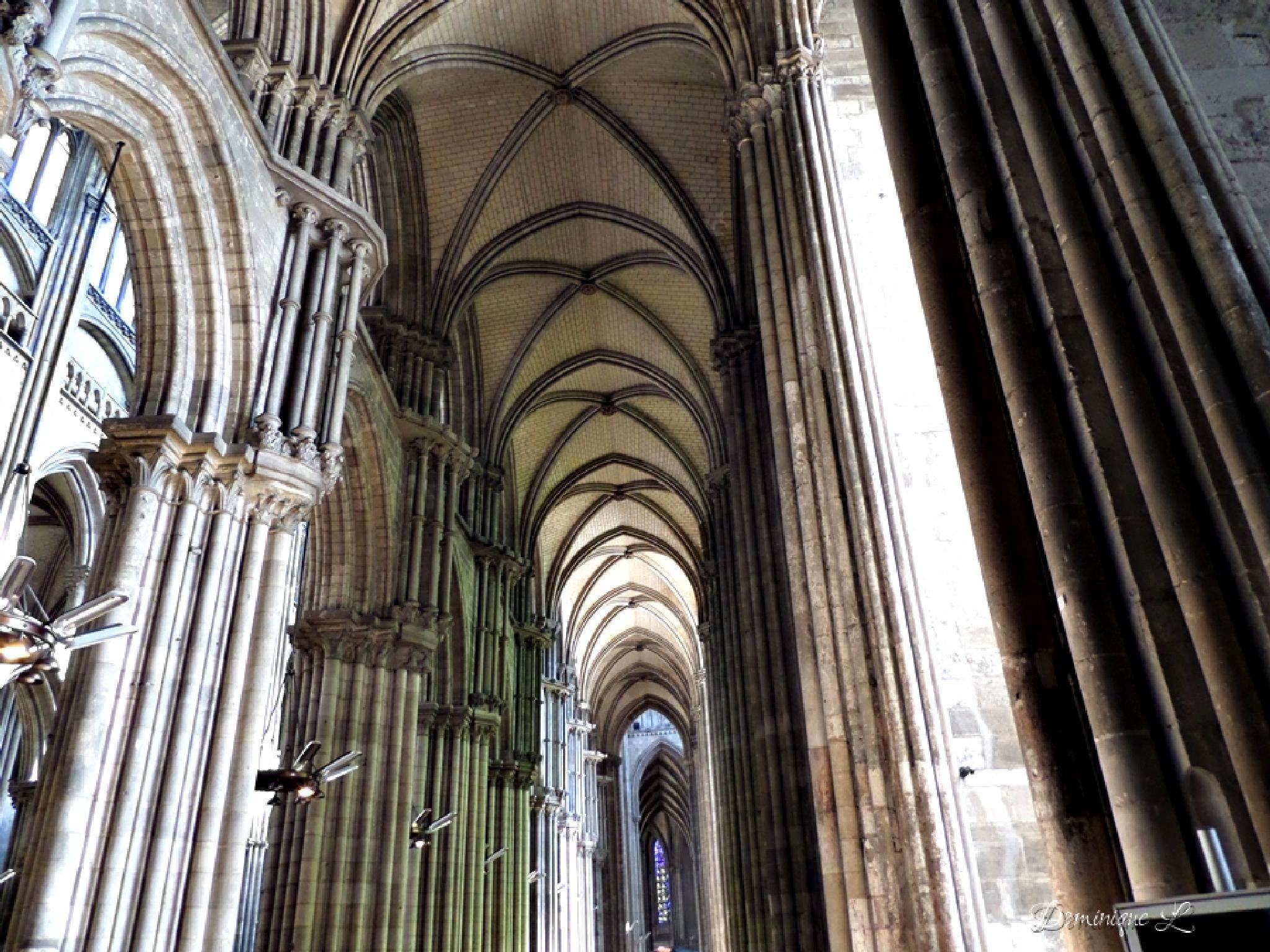 cathédrale Rouen by DominiqueL