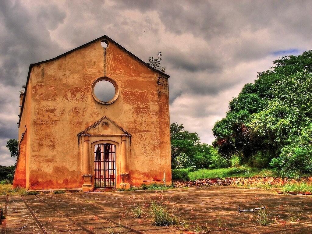 Photo in HDRI #church #old #hdr #image #photomatix #venezuela