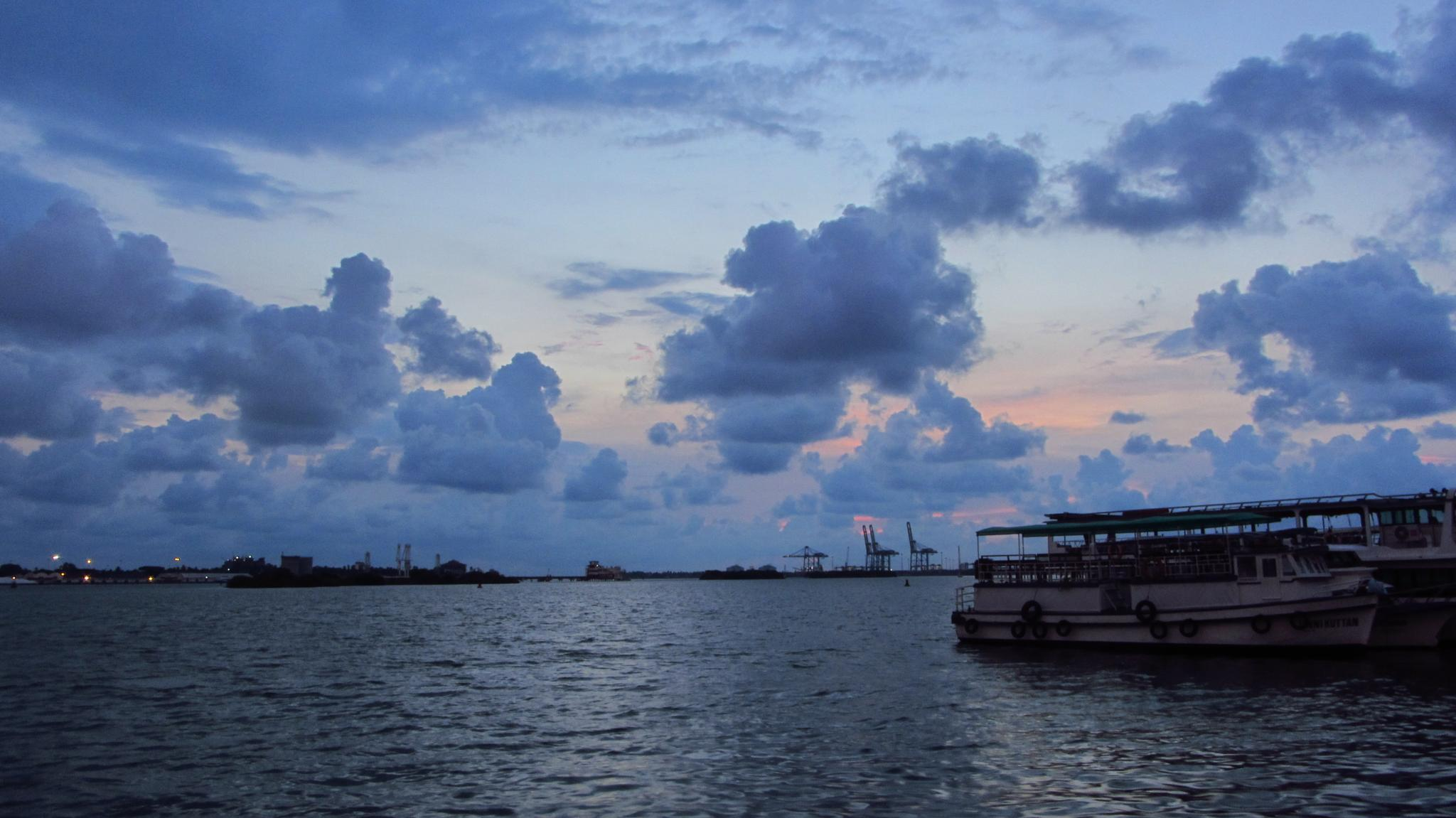 Evening clouds by sinto jose