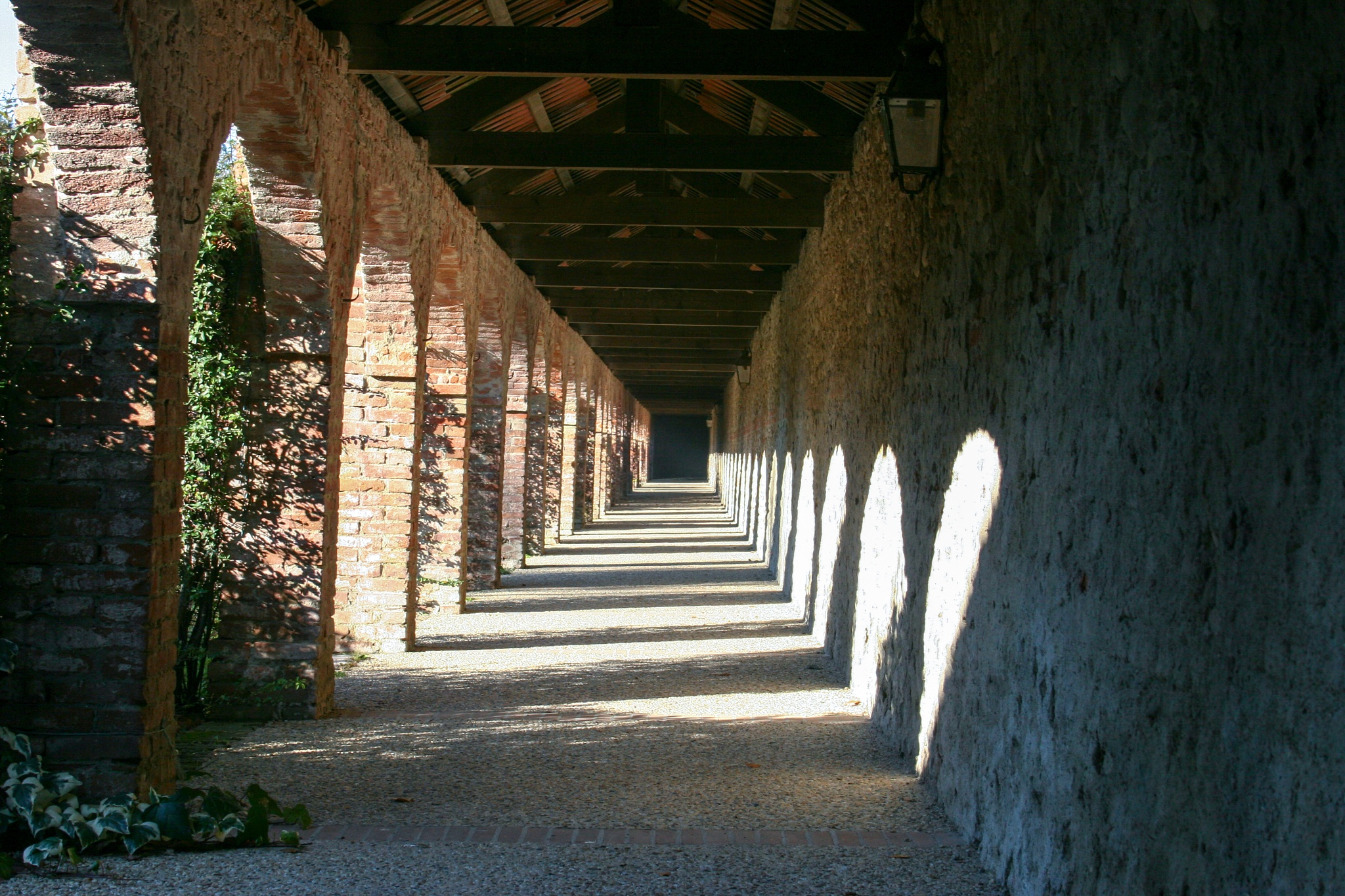 the cloister of silence by Carlo Orsettigh