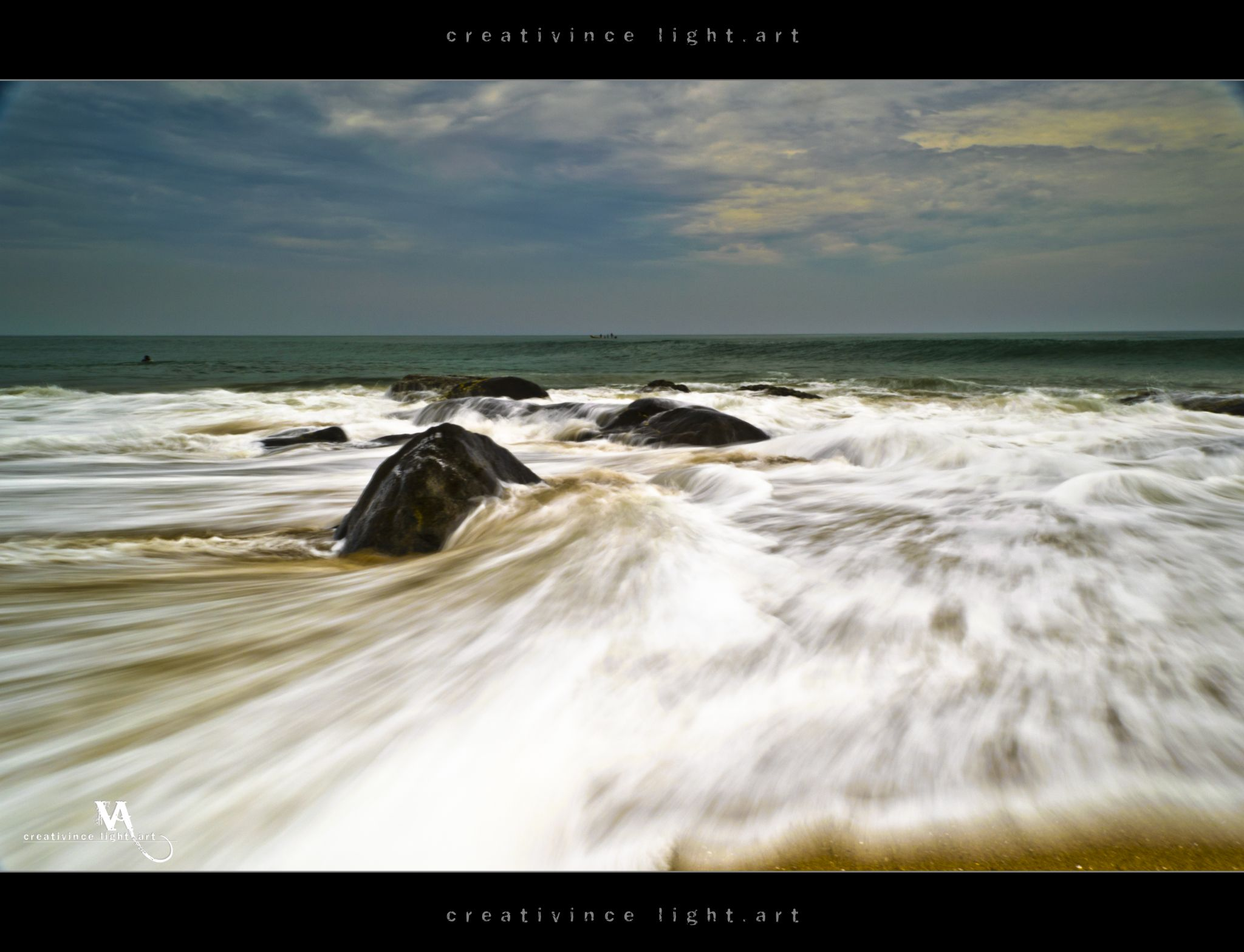 Receding Waves by Vincent Albert