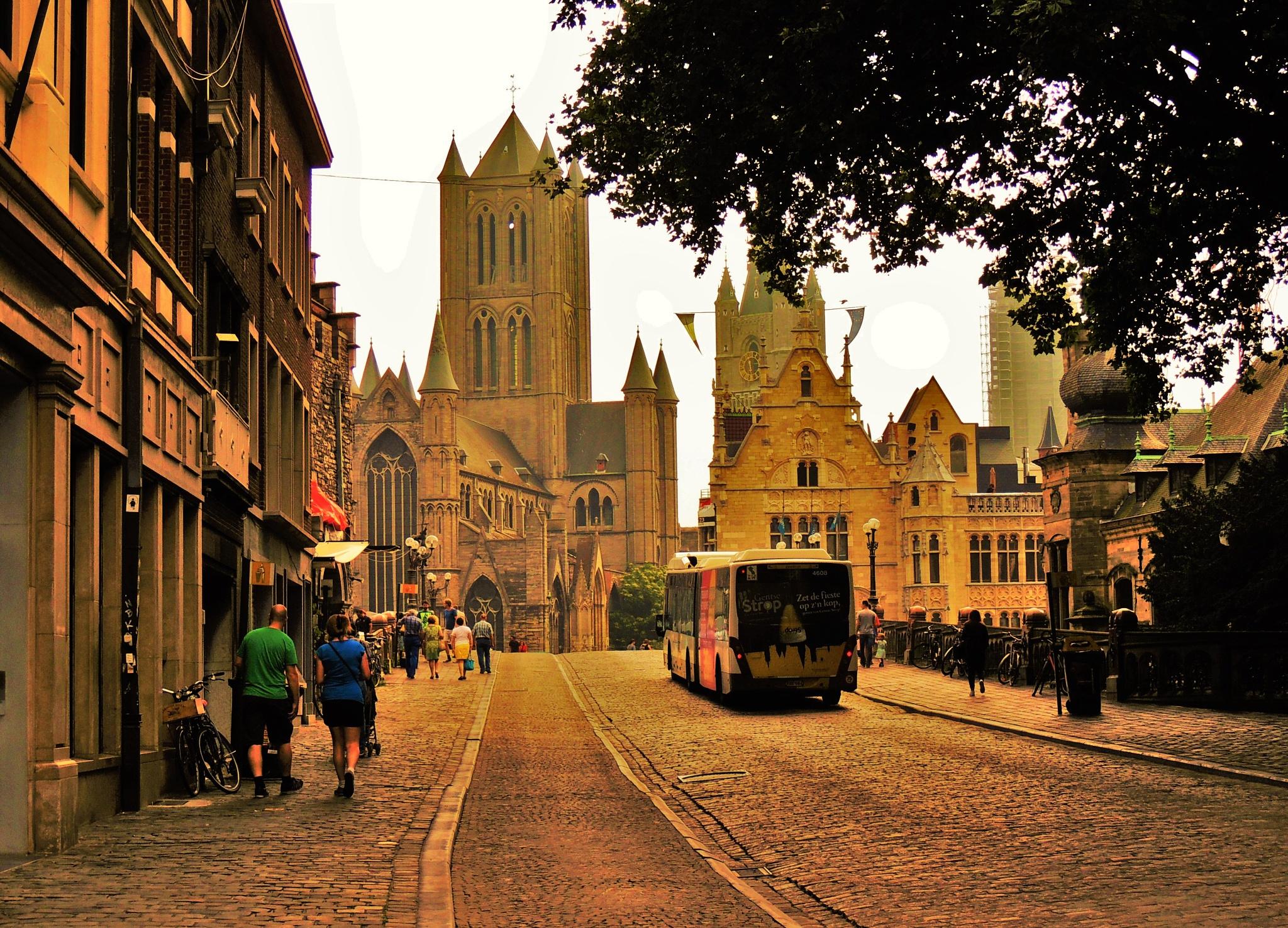 Saint Nicholas Church, Ghent by Rohit Chauhan