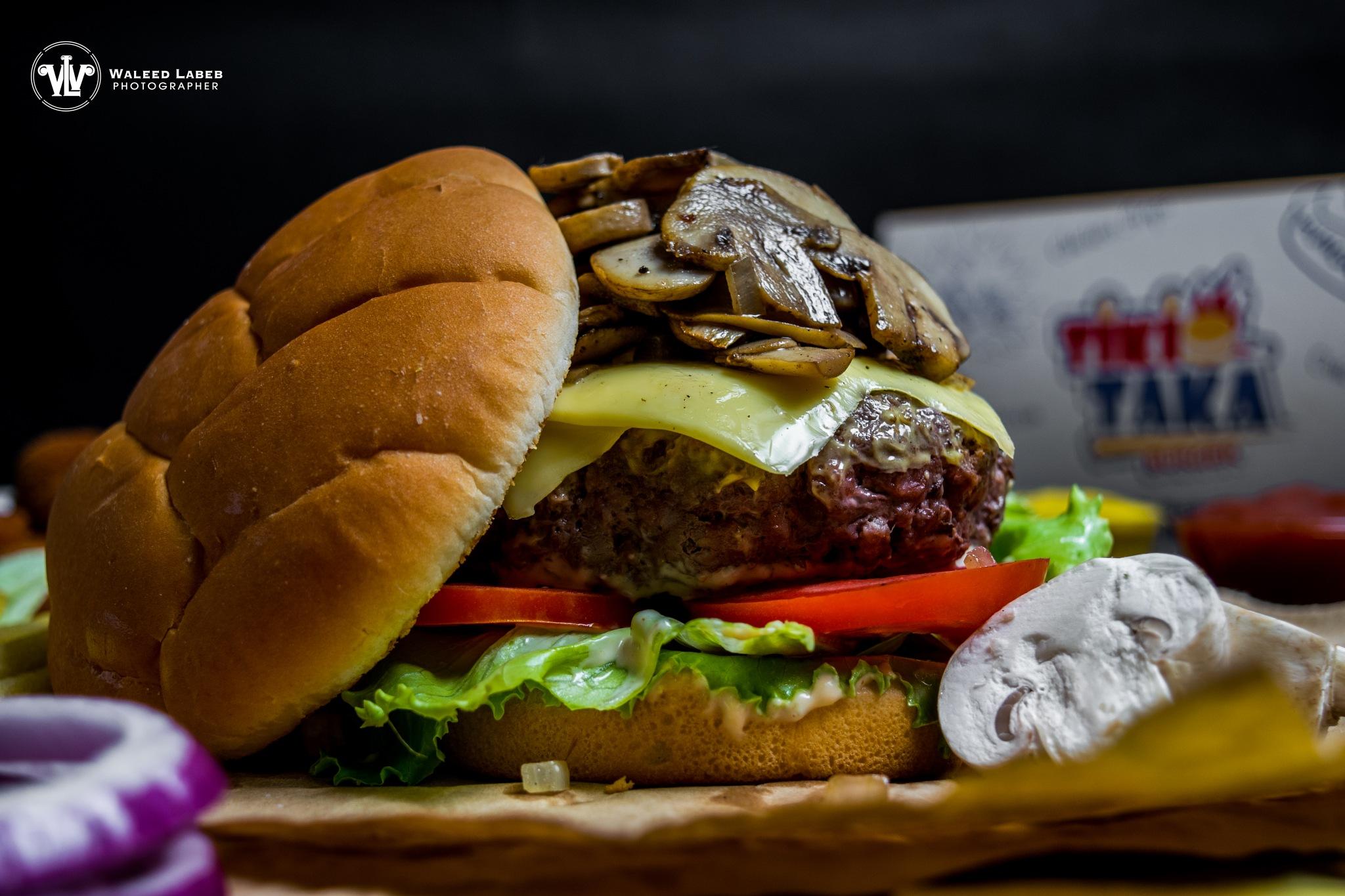 burger by waleed labeb