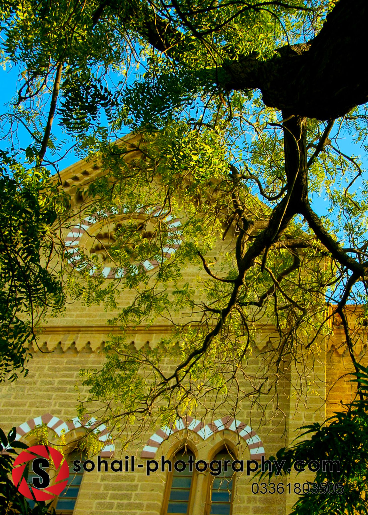 Frere Hall -  by Sohail Asim