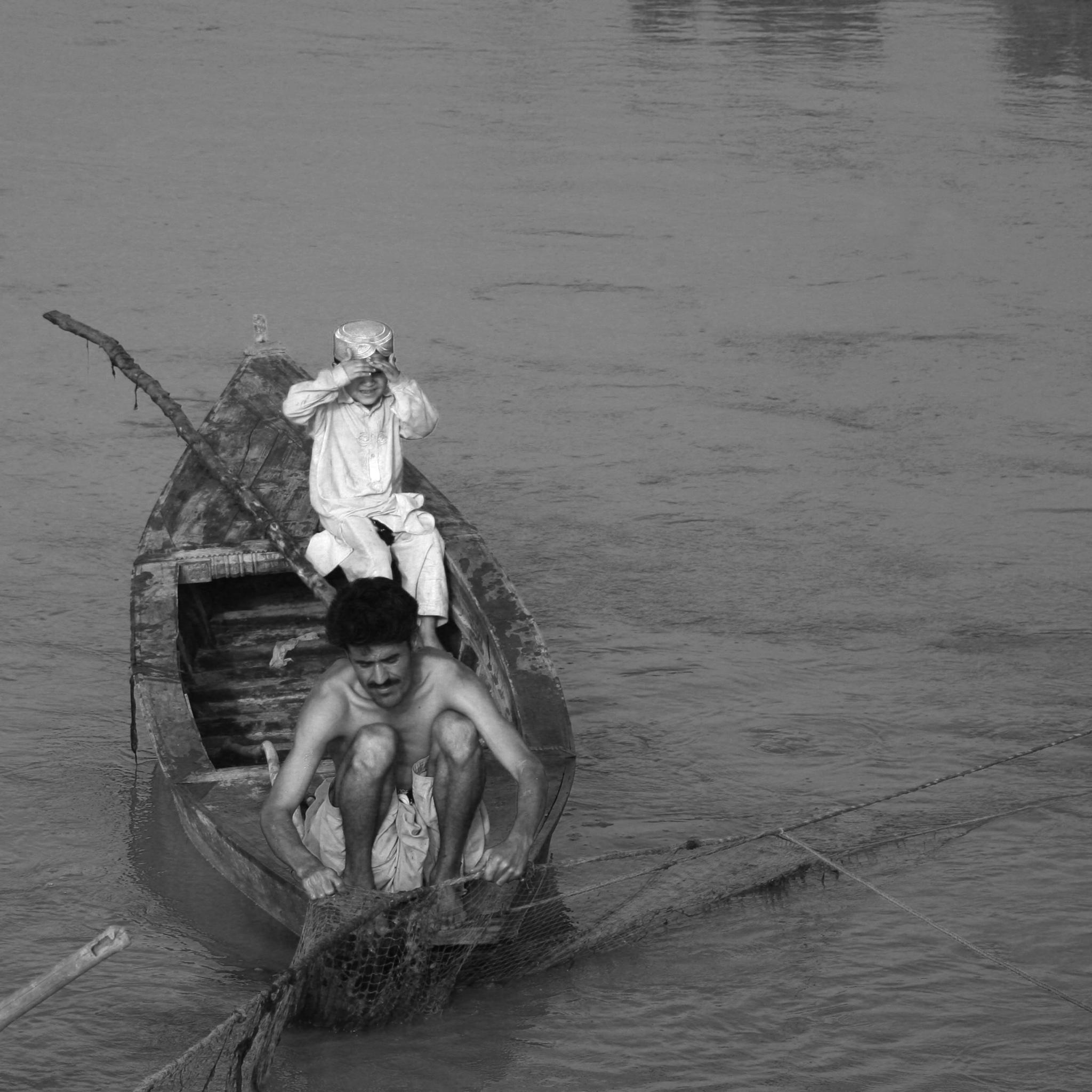 Hardworking Father by Sohail Asim