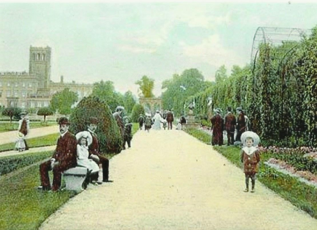 trentham gardens by peter kesic